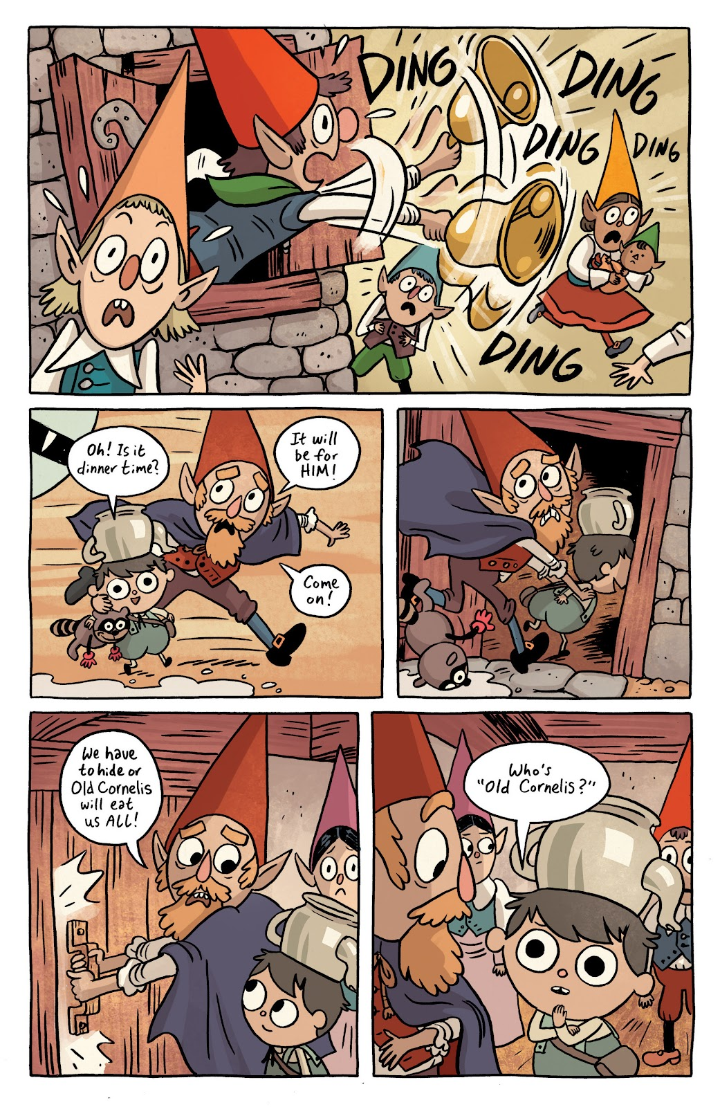 Over the Garden Wall (2016) Issue #1 #1 - English 7