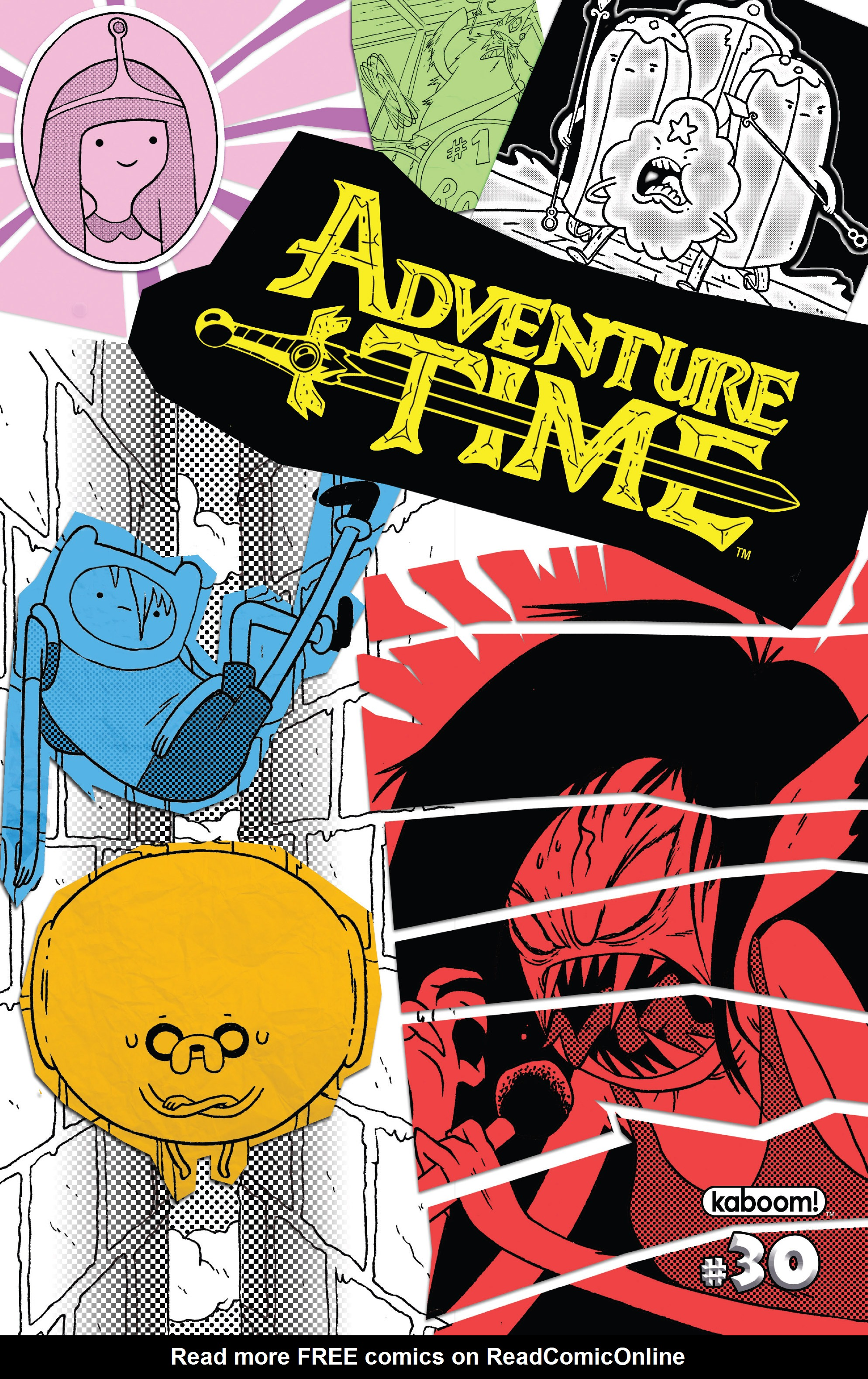Adventure Time 30 Page 1