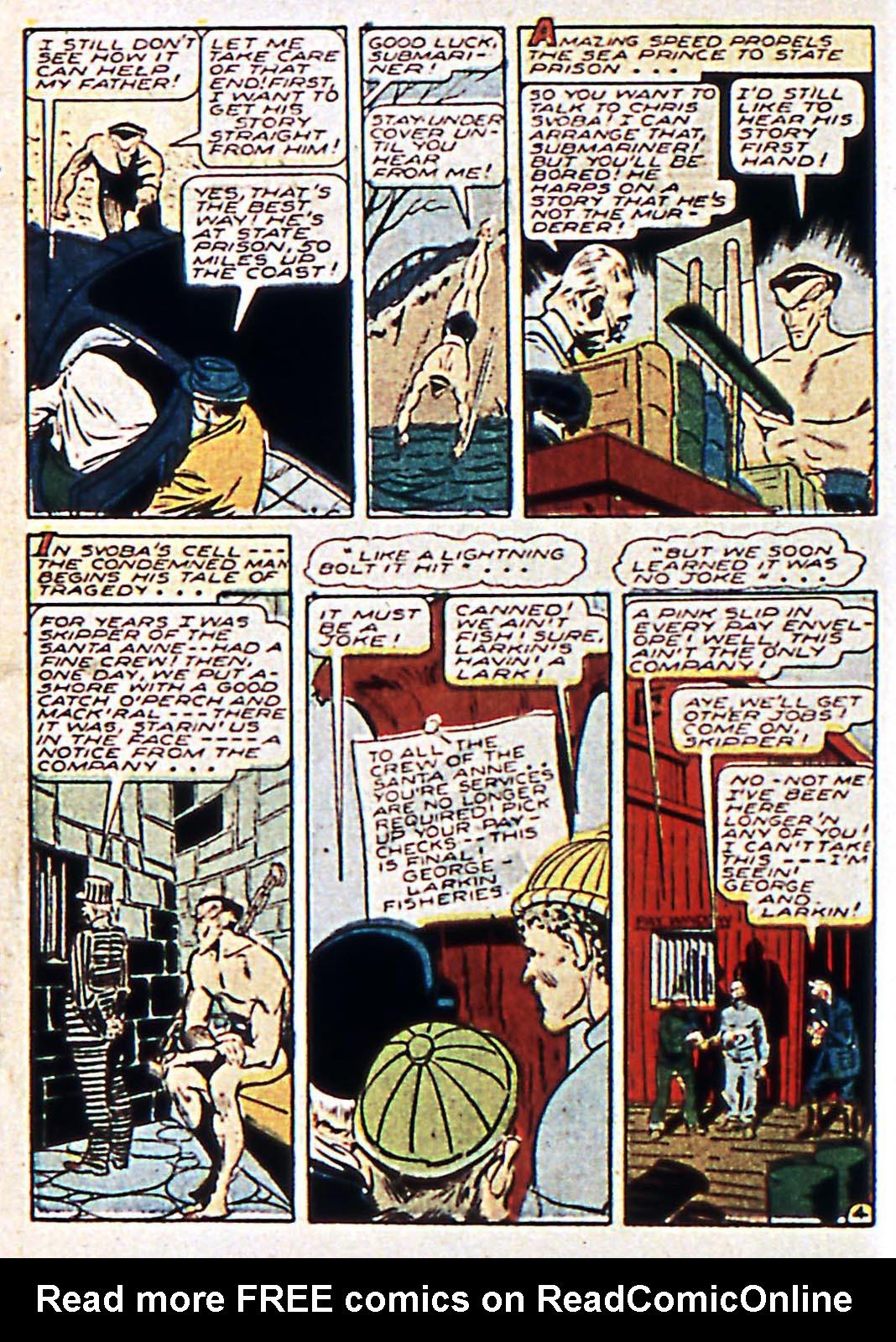 Sub-Mariner Comics Issue #17 #17 - English 6