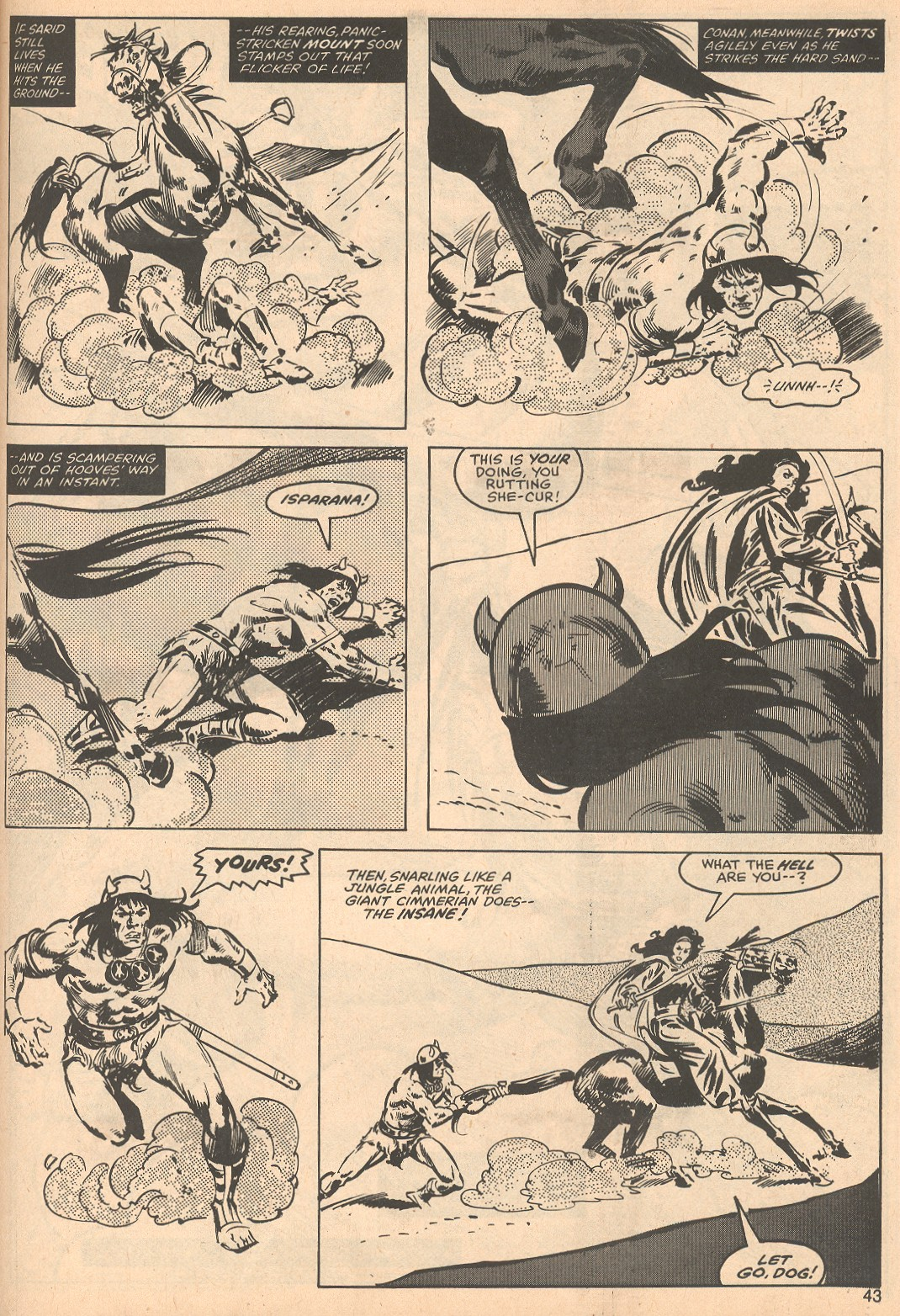 The Savage Sword Of Conan Issue #56 #57 - English 43