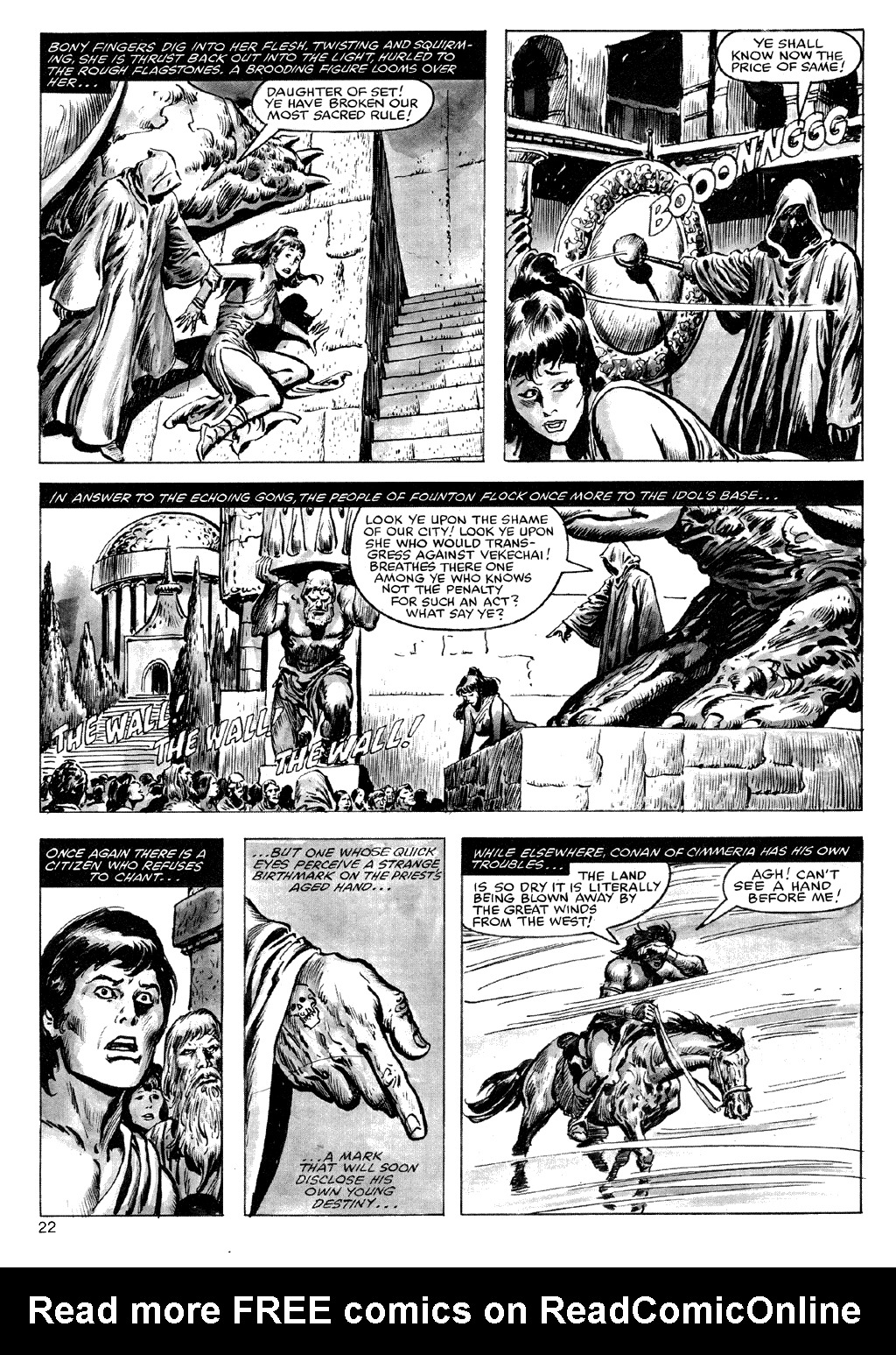 The Savage Sword Of Conan Issue #72 #73 - English 22
