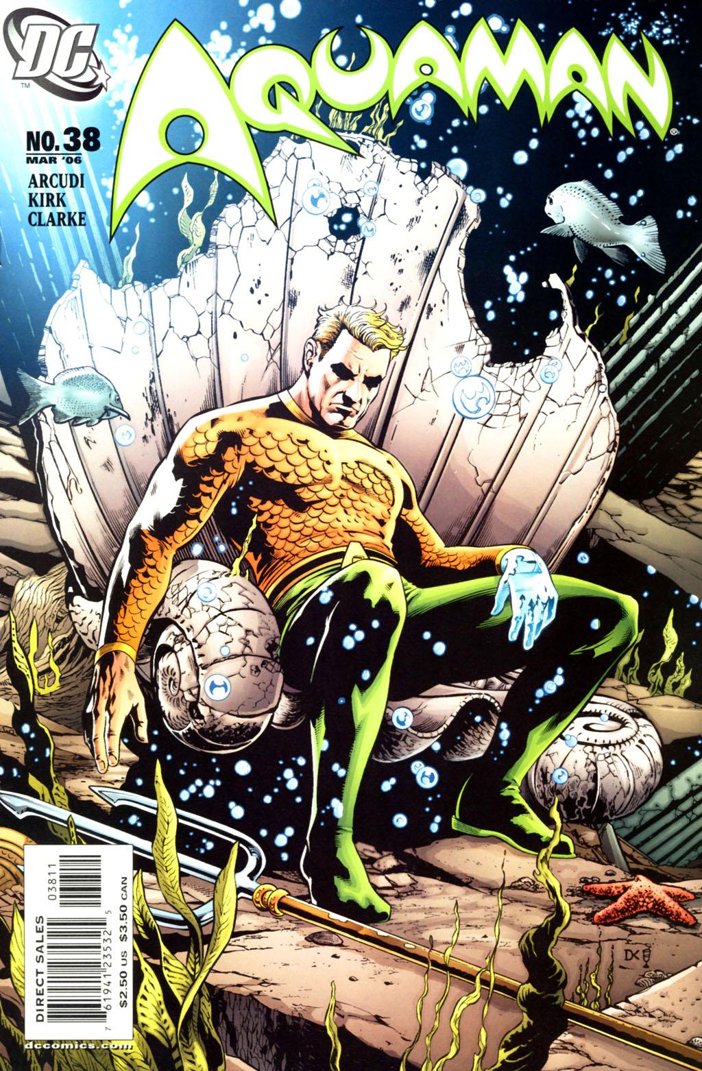 Read online Aquaman (2003) comic -  Issue #38 - 1