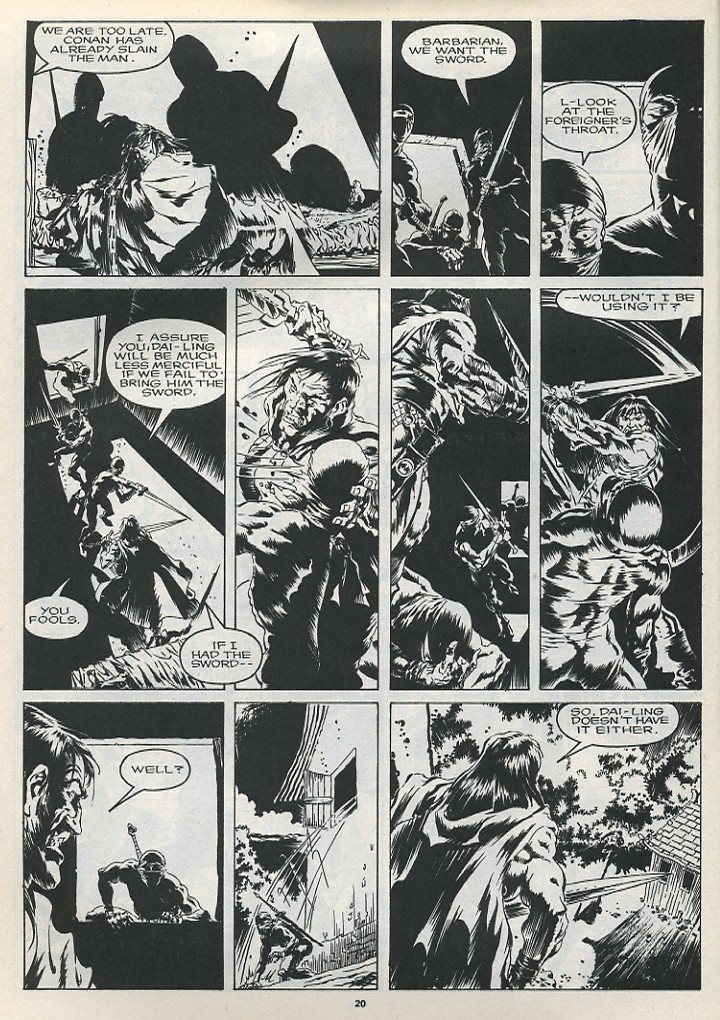 The Savage Sword Of Conan Issue #175 #176 - English 22