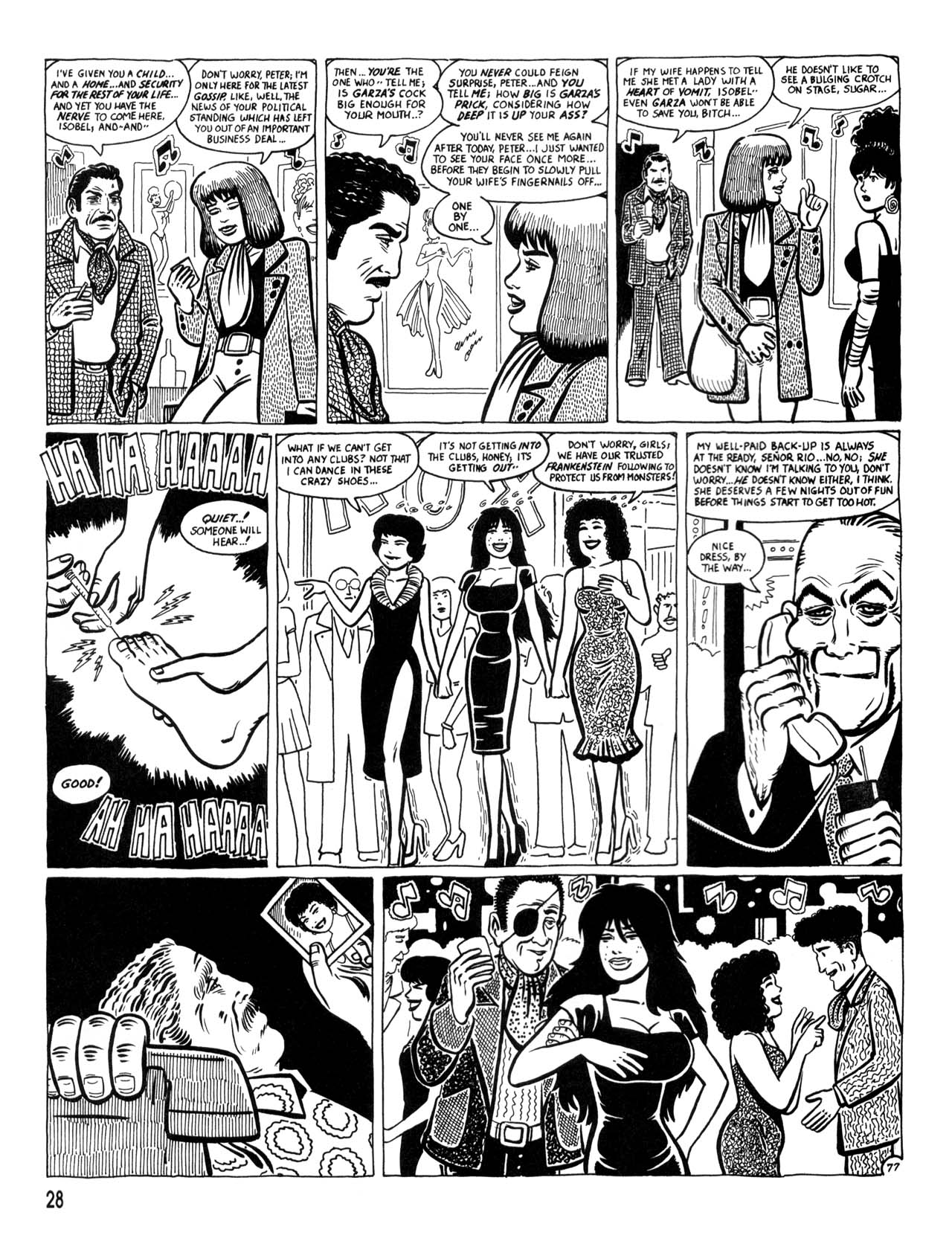 Love and Rockets (1982) #35 #35 - English 30