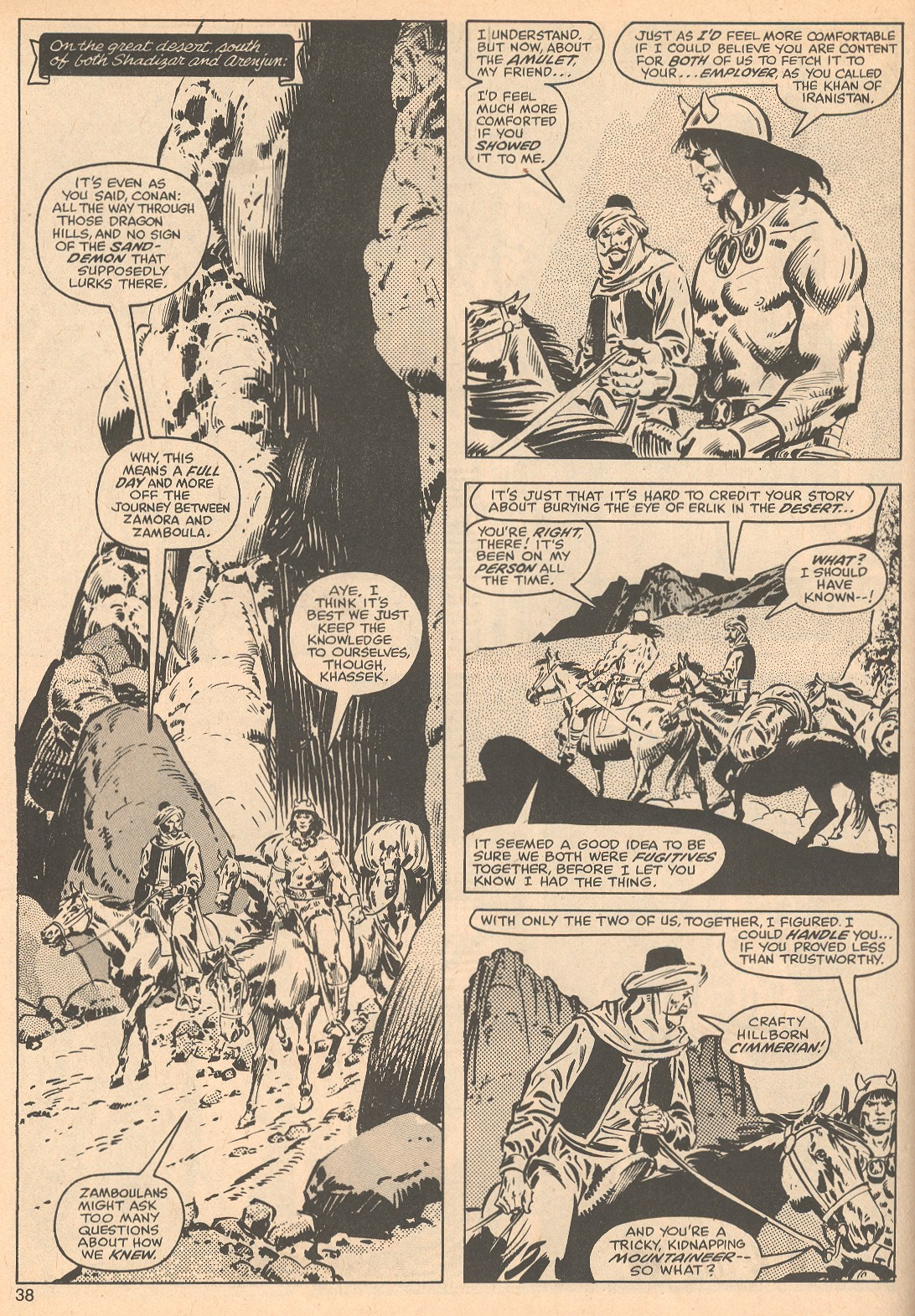 The Savage Sword Of Conan Issue #56 #57 - English 38