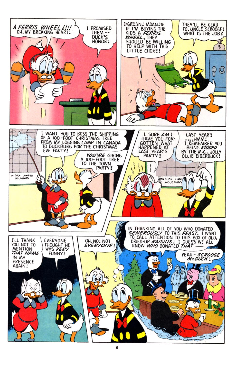 Uncle Scrooge (1953) Issue #251 #251 - English 6