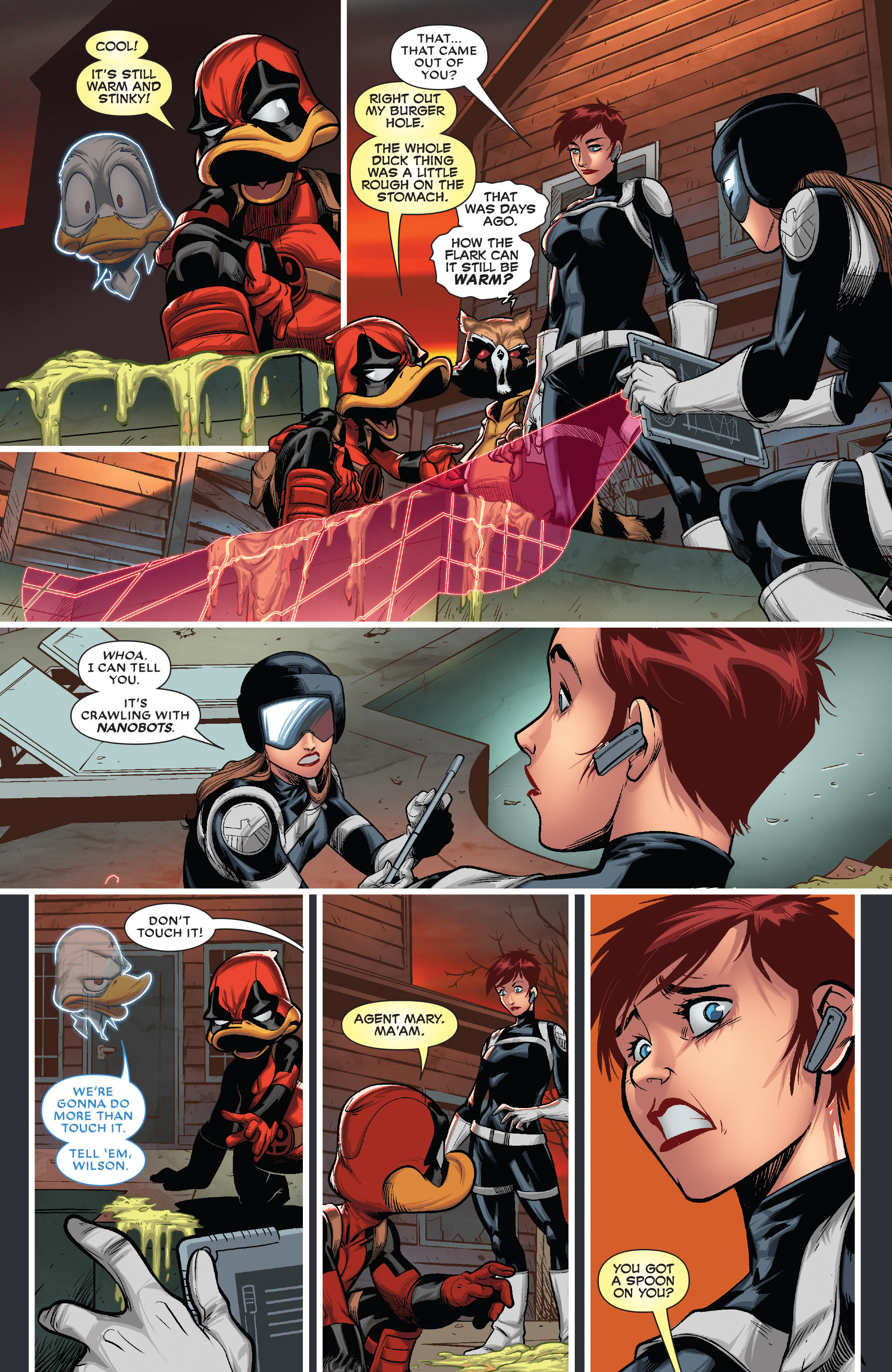 Read online Deadpool The Duck comic -  Issue #5 - 7