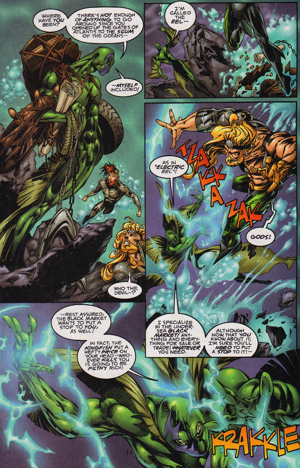 Aquaman (1994) Issue #59 #65 - English 12