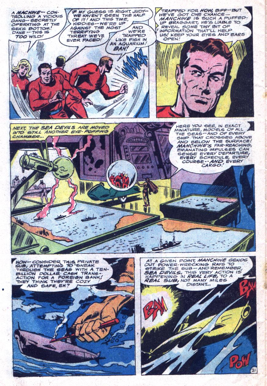 Read online Sea Devils comic -  Issue #33 - 29