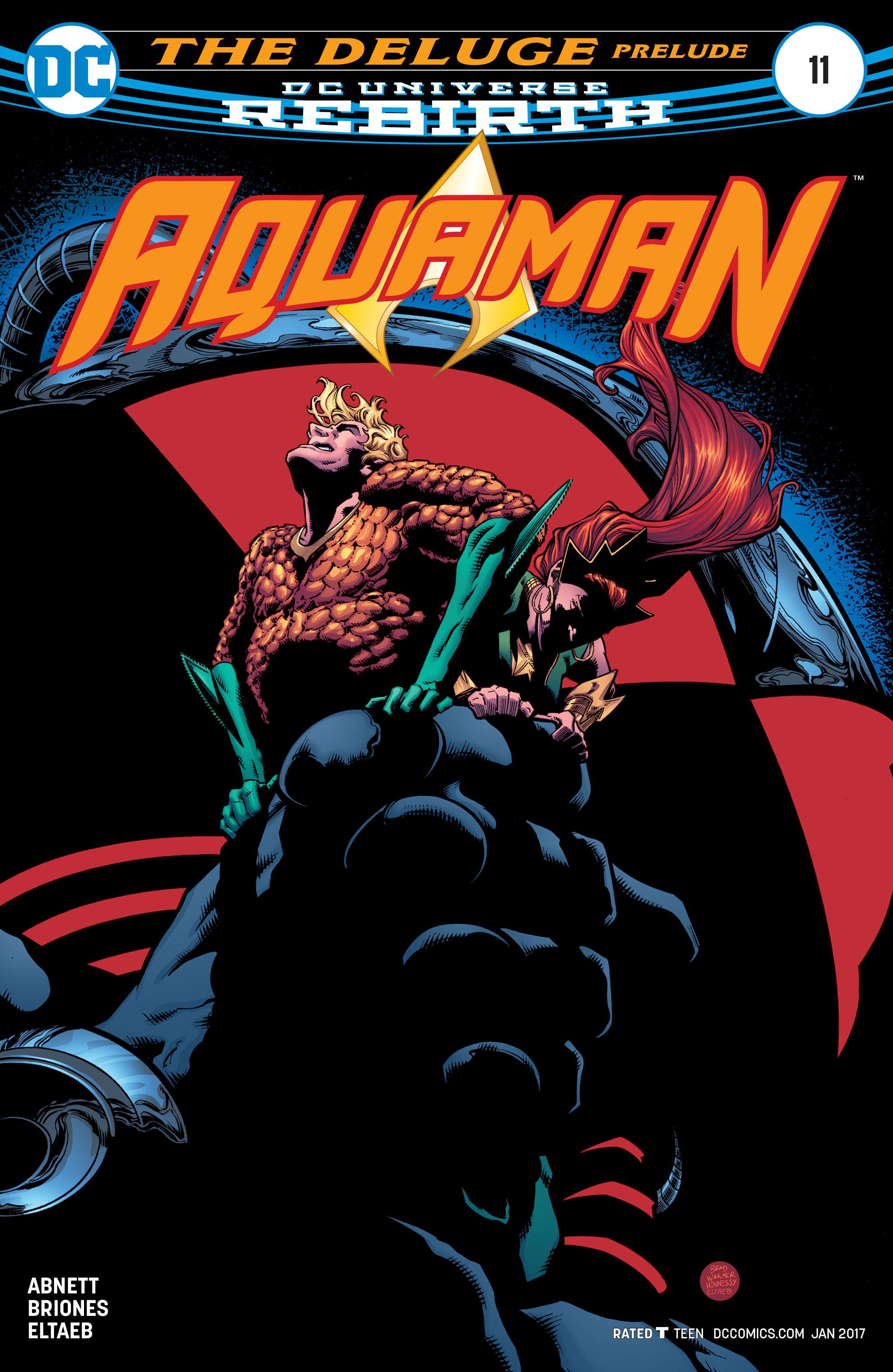 Aquaman (2016) 11 Page 1