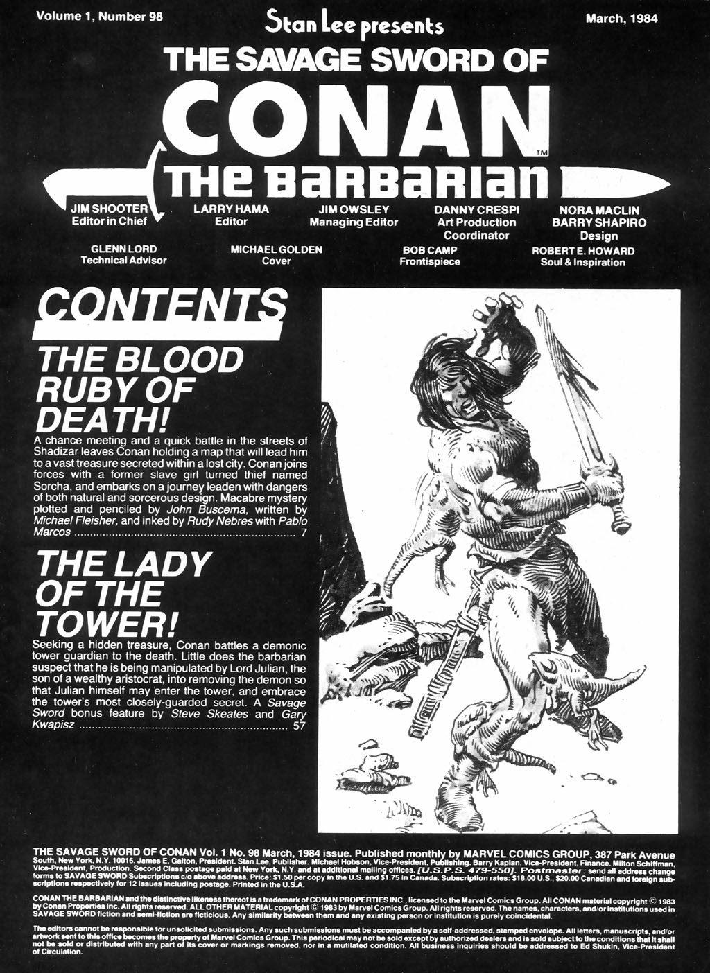 The Savage Sword Of Conan Issue #98 #99 - English 3