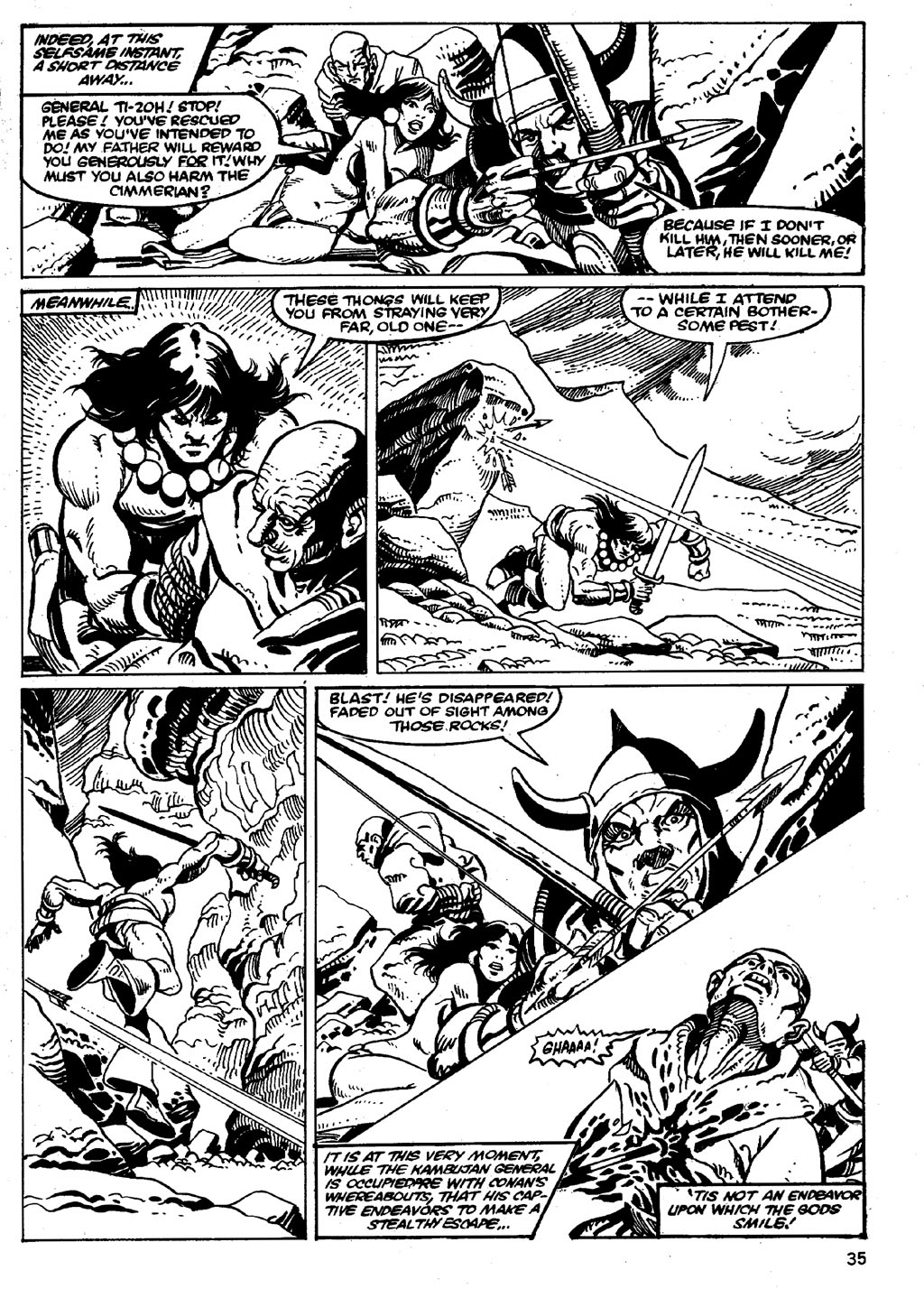 The Savage Sword Of Conan Issue #86 #87 - English 35