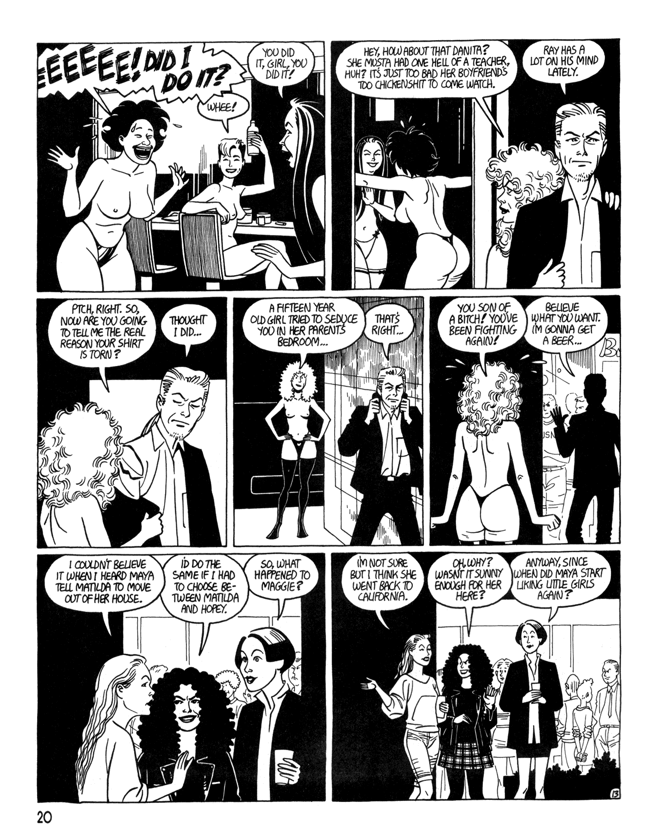 Love and Rockets (1982) #34 #34 - English 22