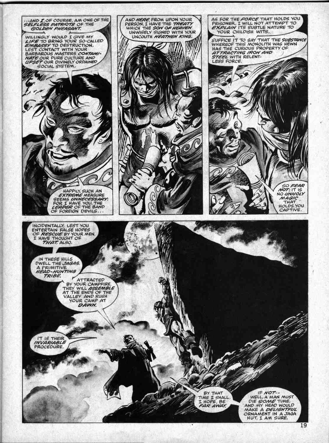 The Savage Sword Of Conan Issue #33 #34 - English 18