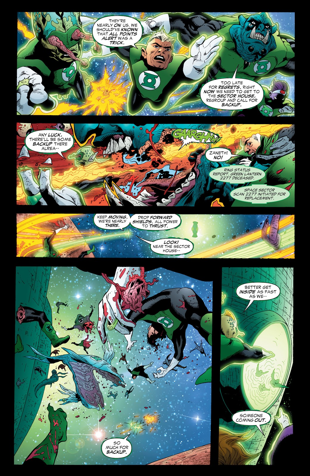 Green Lantern: The Sinestro Corps War Full #1 - English 71