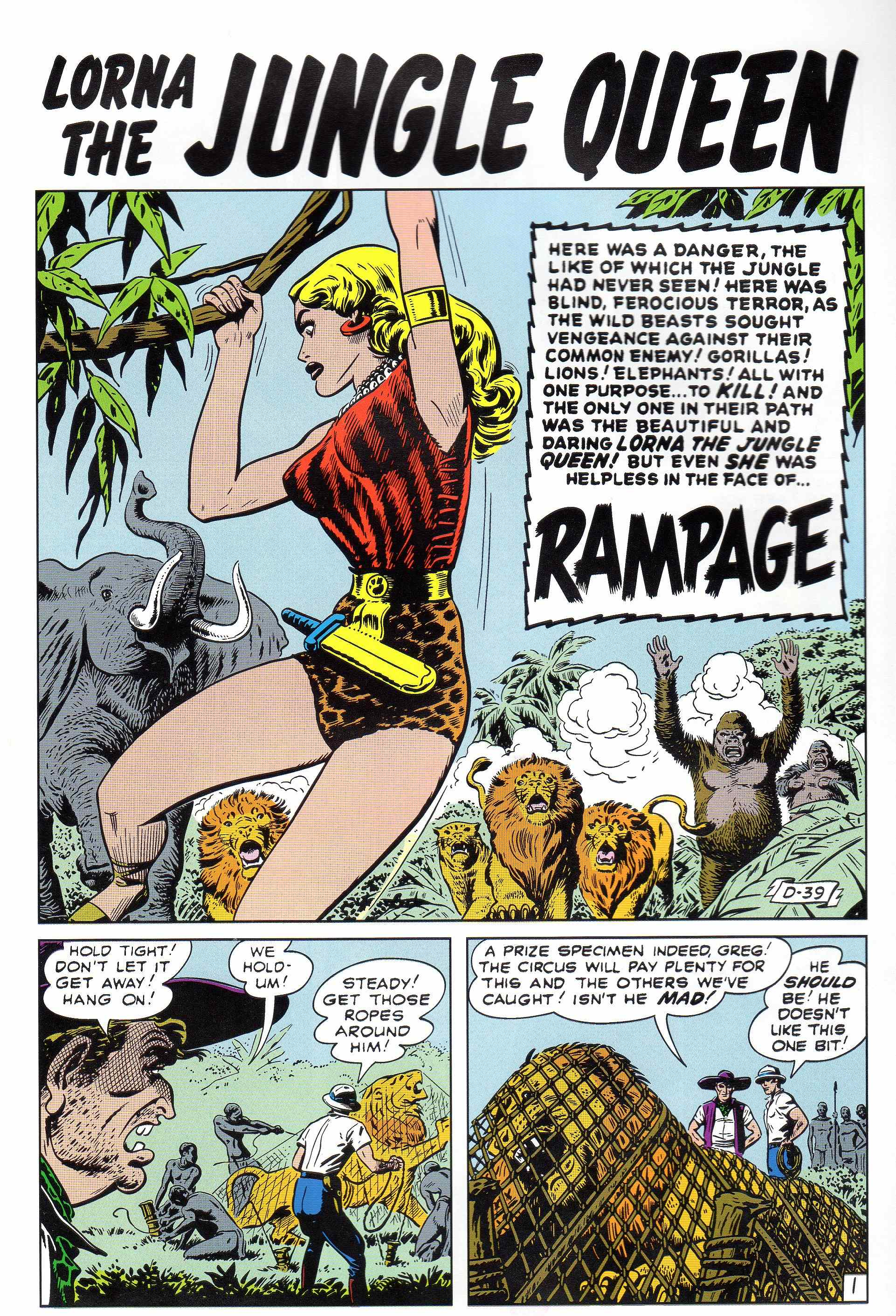 Read online Lorna, The Jungle Queen comic -  Issue #4 - 2