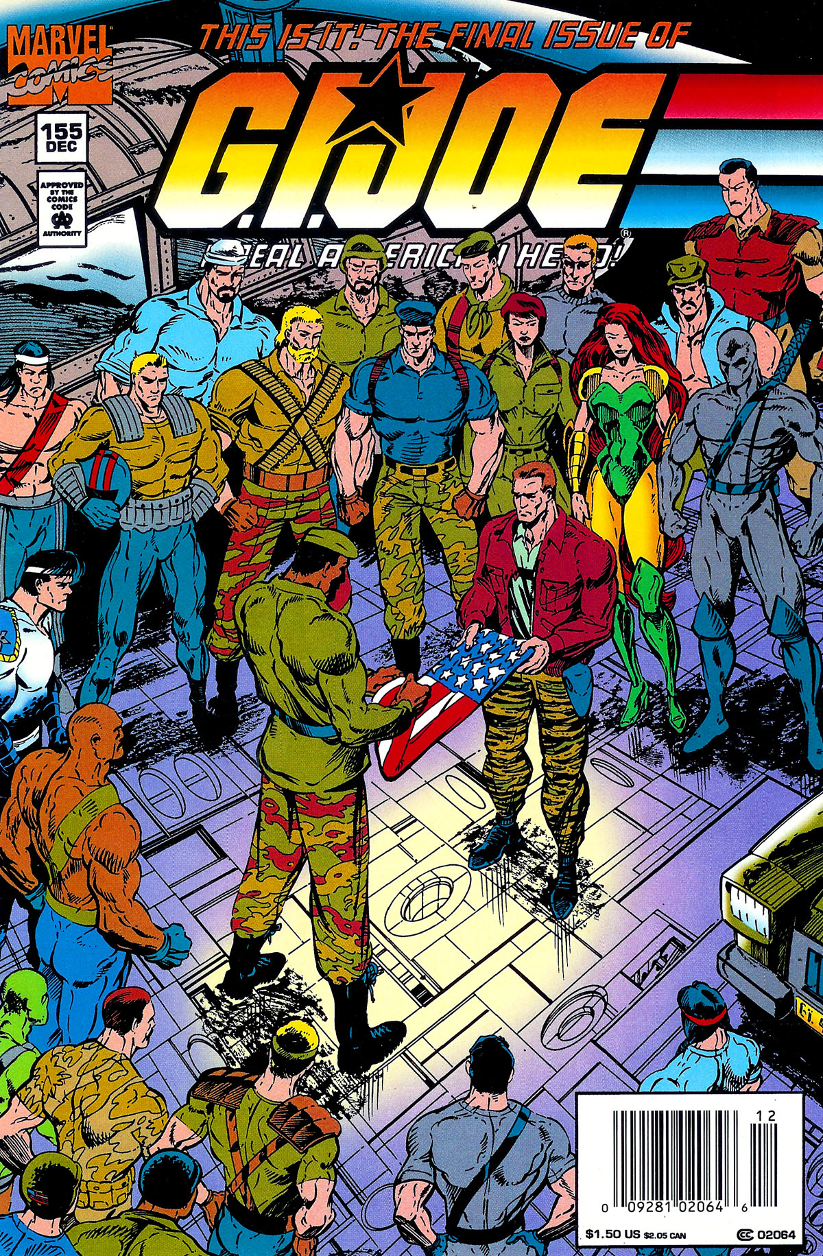 G.I. Joe: A Real American Hero 155 Page 1