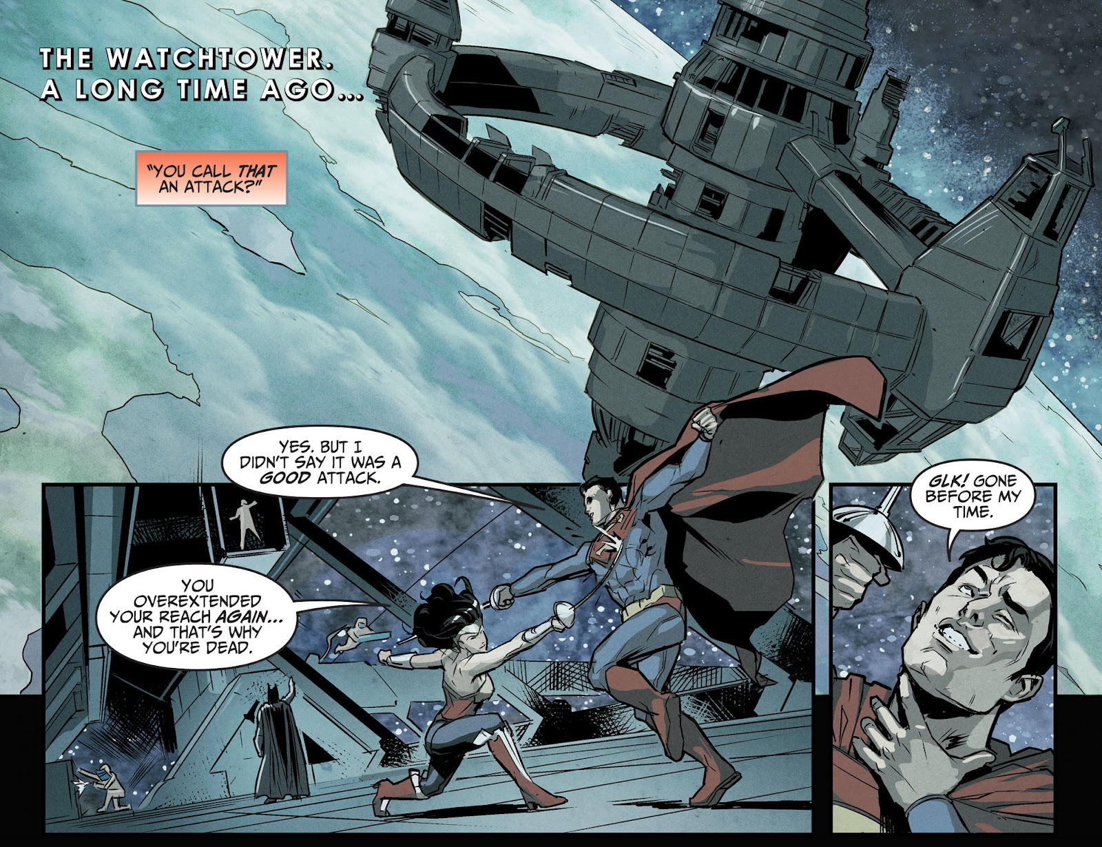 Injustice: Gods Among Us Year Four Issue #10 #11 - English 8