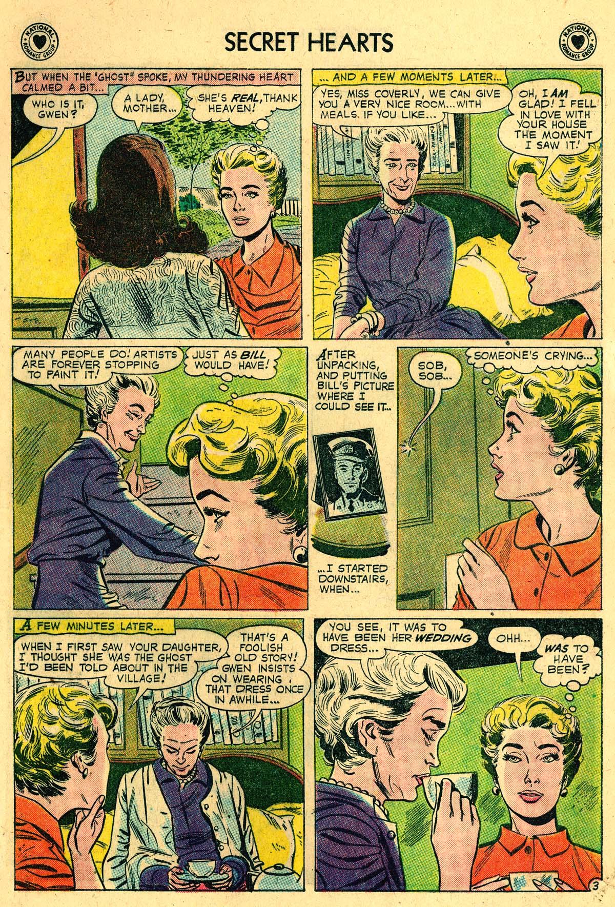 Read online Secret Hearts comic -  Issue #57 - 5
