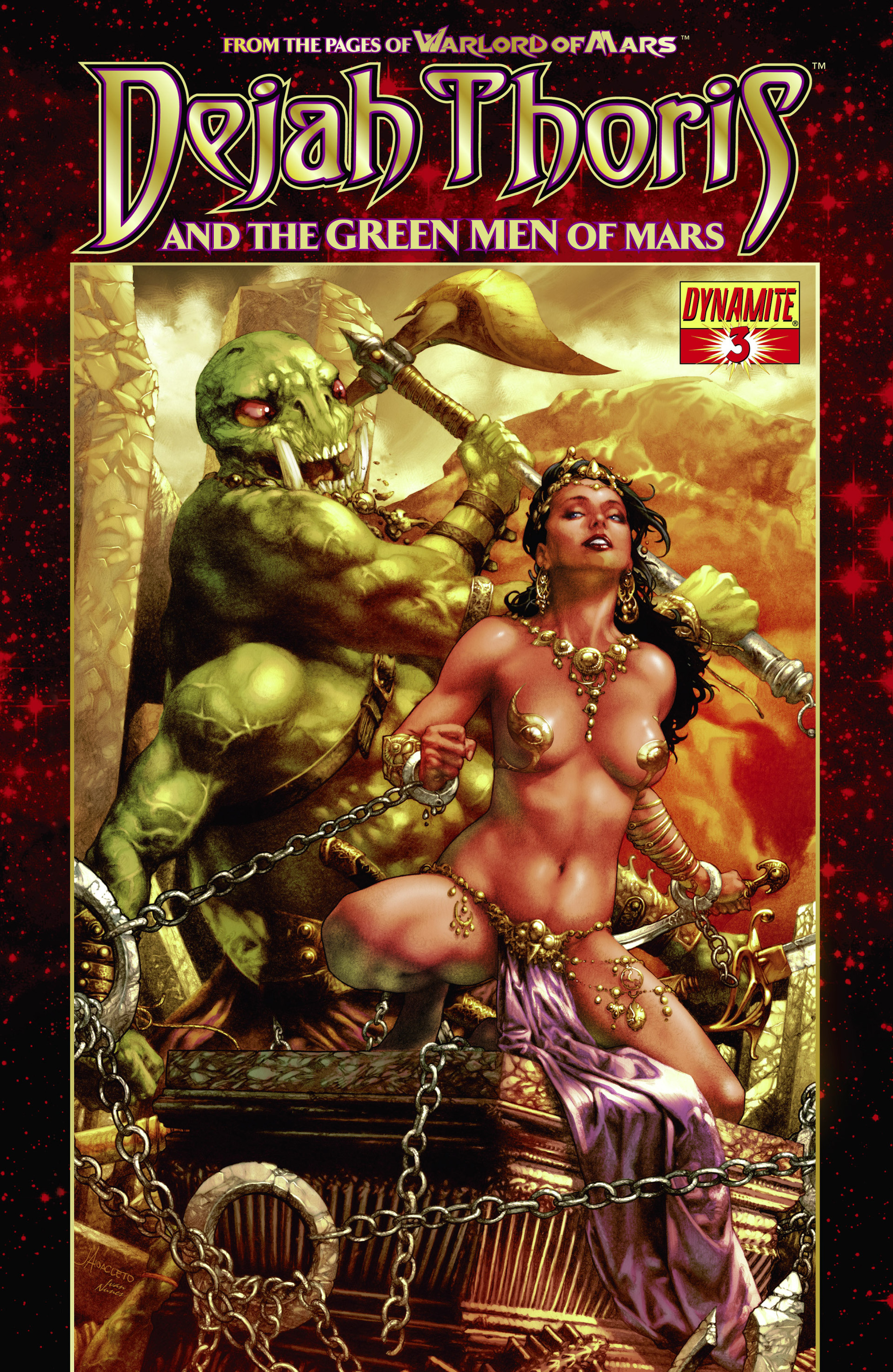 Dejah Thoris and the Green Men of Mars issue 3 - Page 1