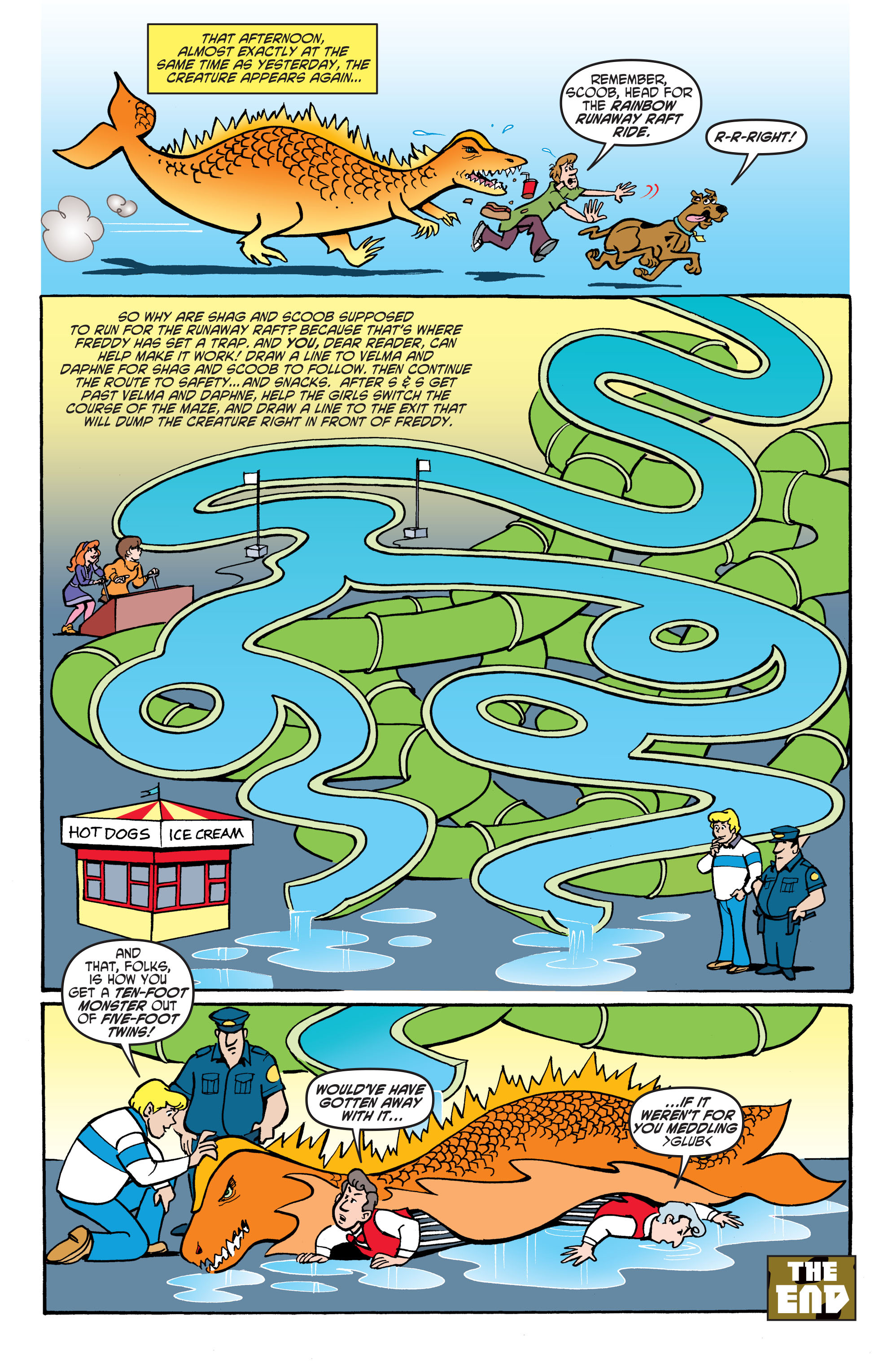 Read online Scooby-Doo: Where Are You? comic -  Issue #62 - 23