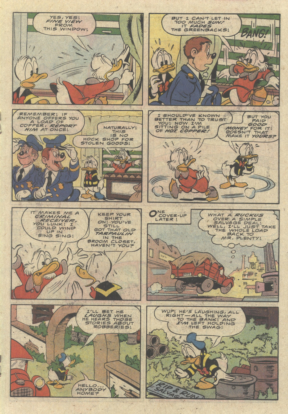Uncle Scrooge (1953) Issue #236 #236 - English 19