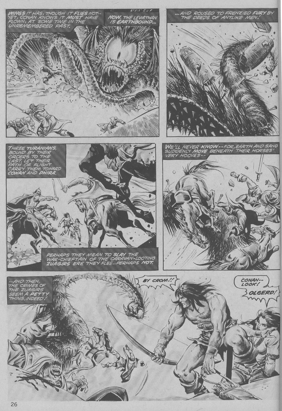 The Savage Sword Of Conan Issue #6 #7 - English 26