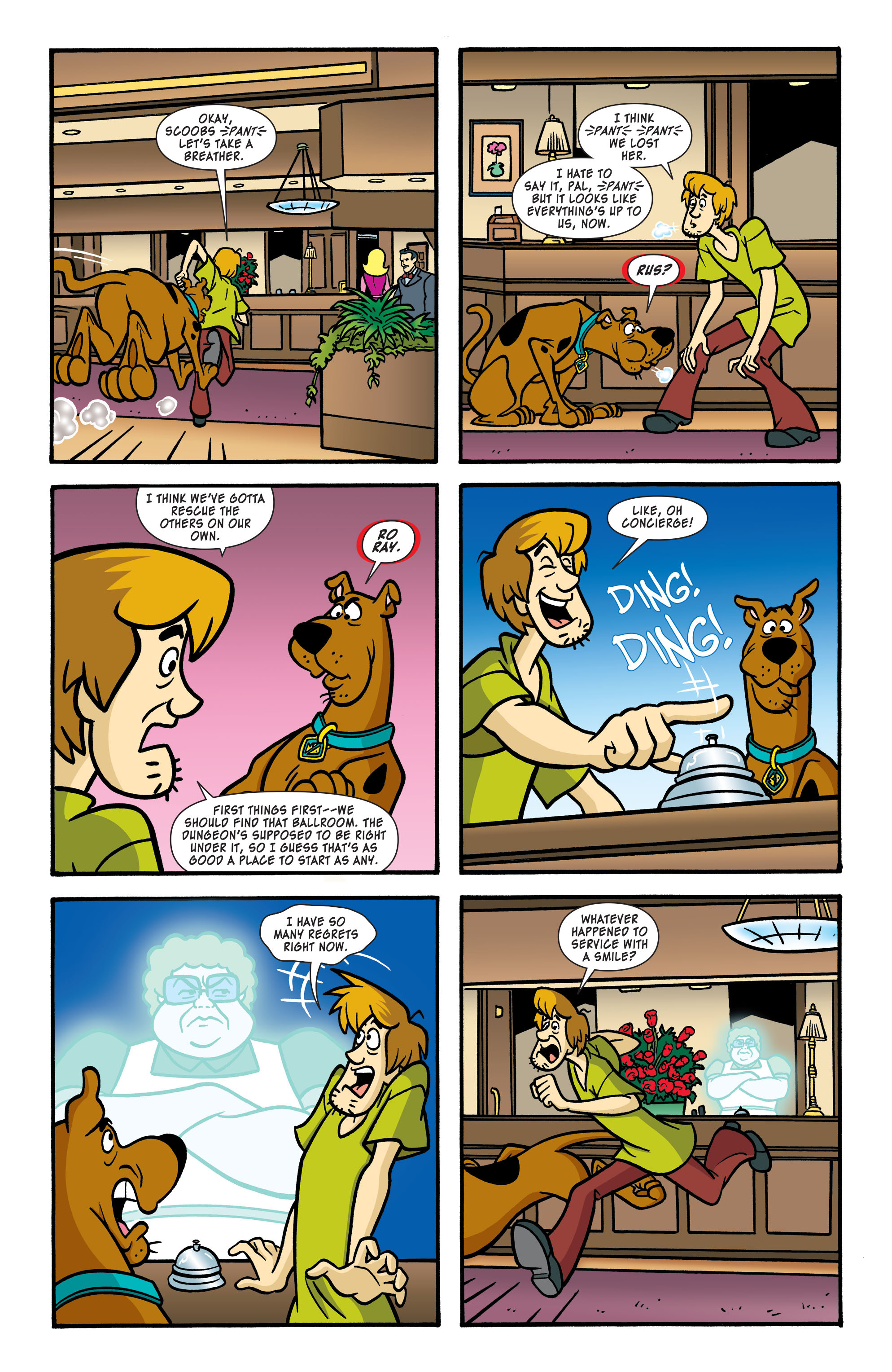 Read online Scooby-Doo: Where Are You? comic -  Issue #56 - 9