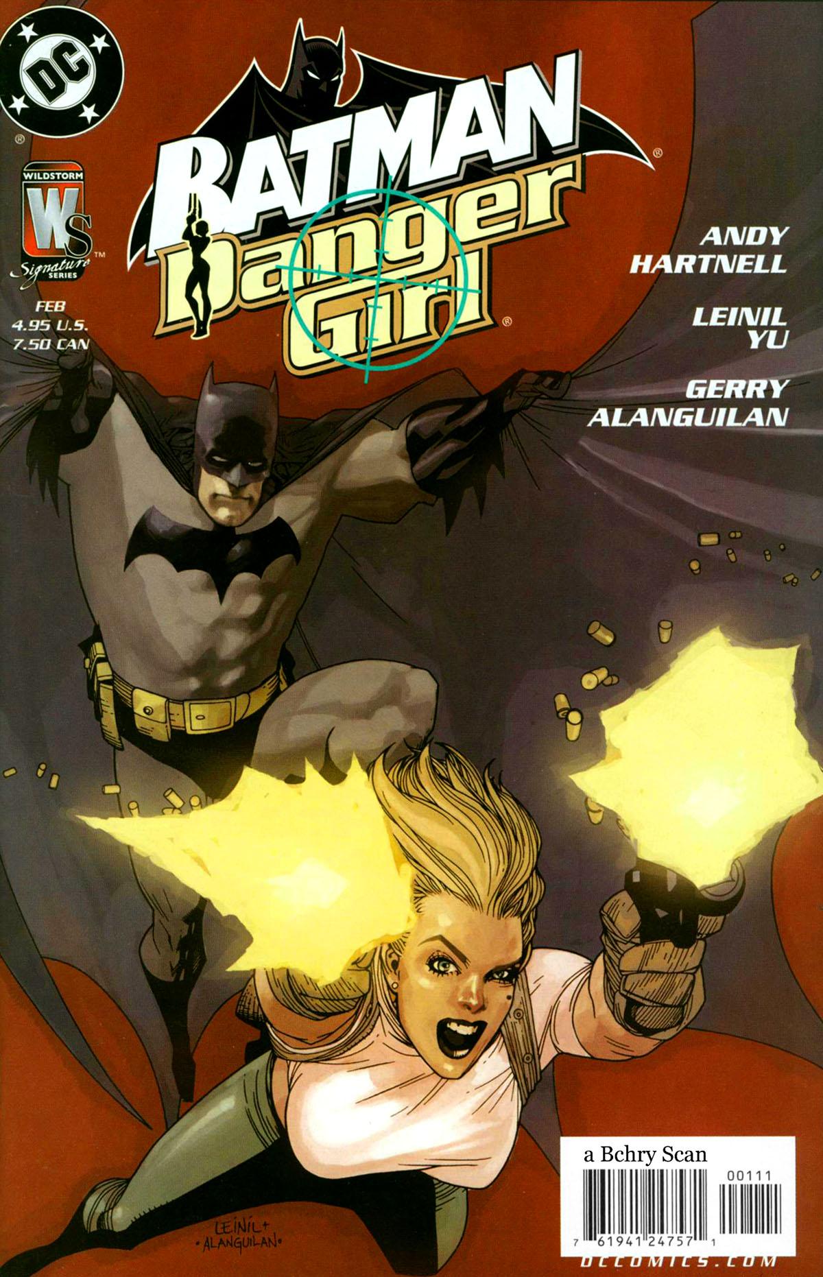 Batman/Danger Girl Full Page 1