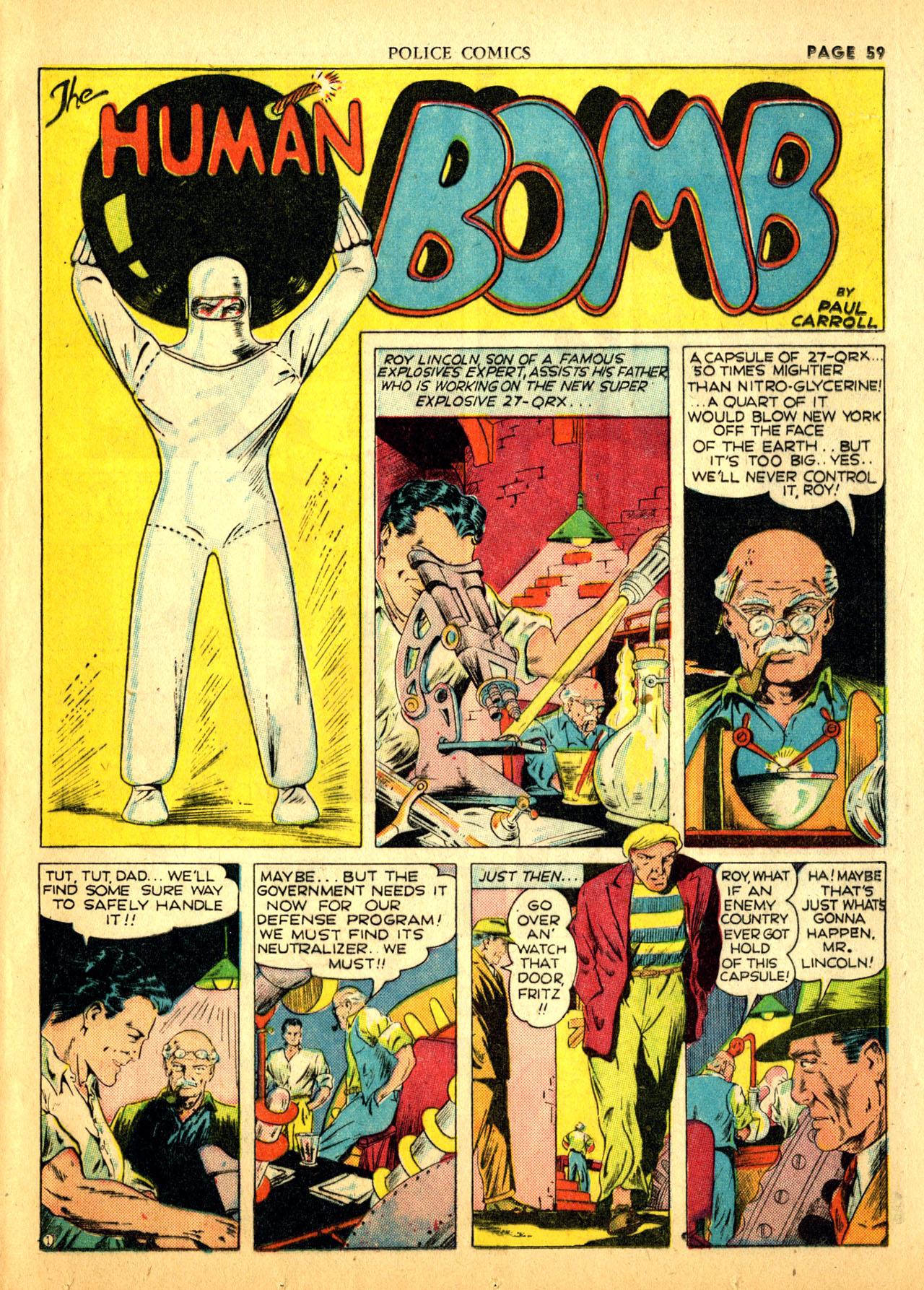 Police Comics #1 #127 - English 62