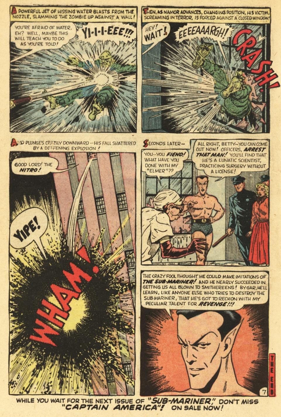 Sub-Mariner Comics #35 #35 - English 32