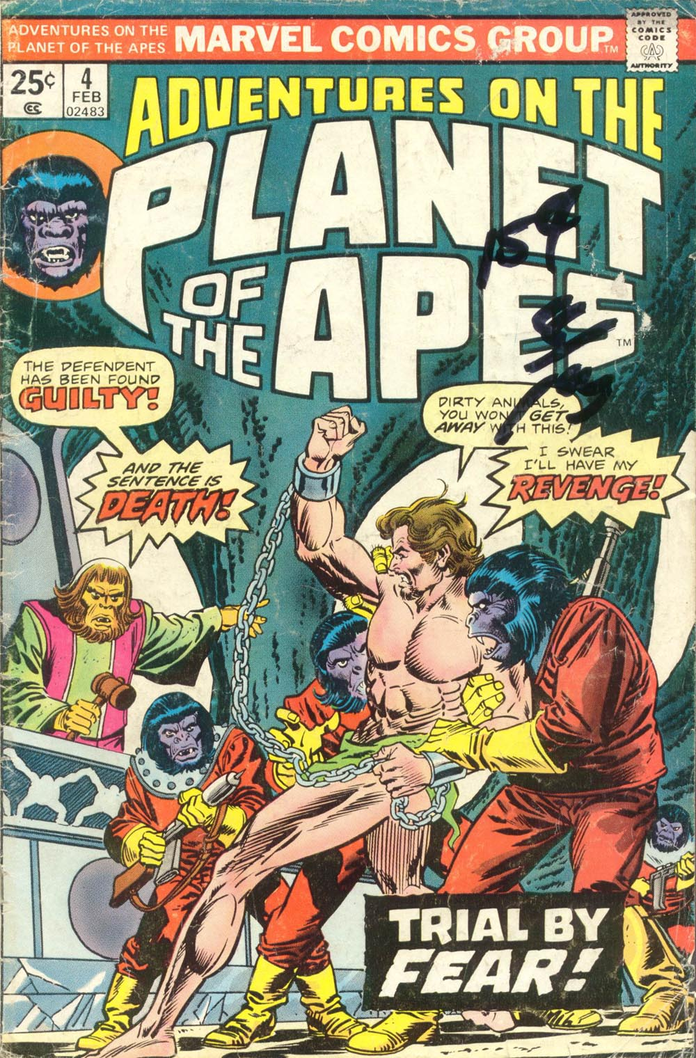 Adventures on the Planet of the Apes 4 Page 1