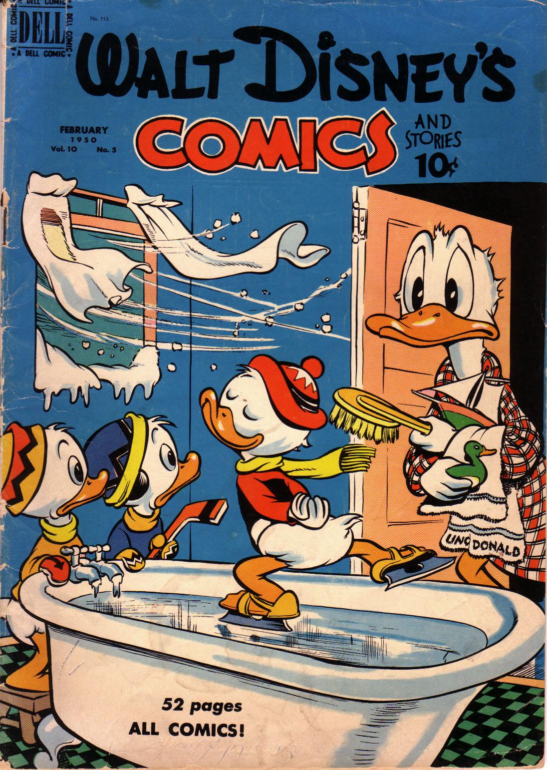 Walt Disneys Comics and Stories 113 Page 1