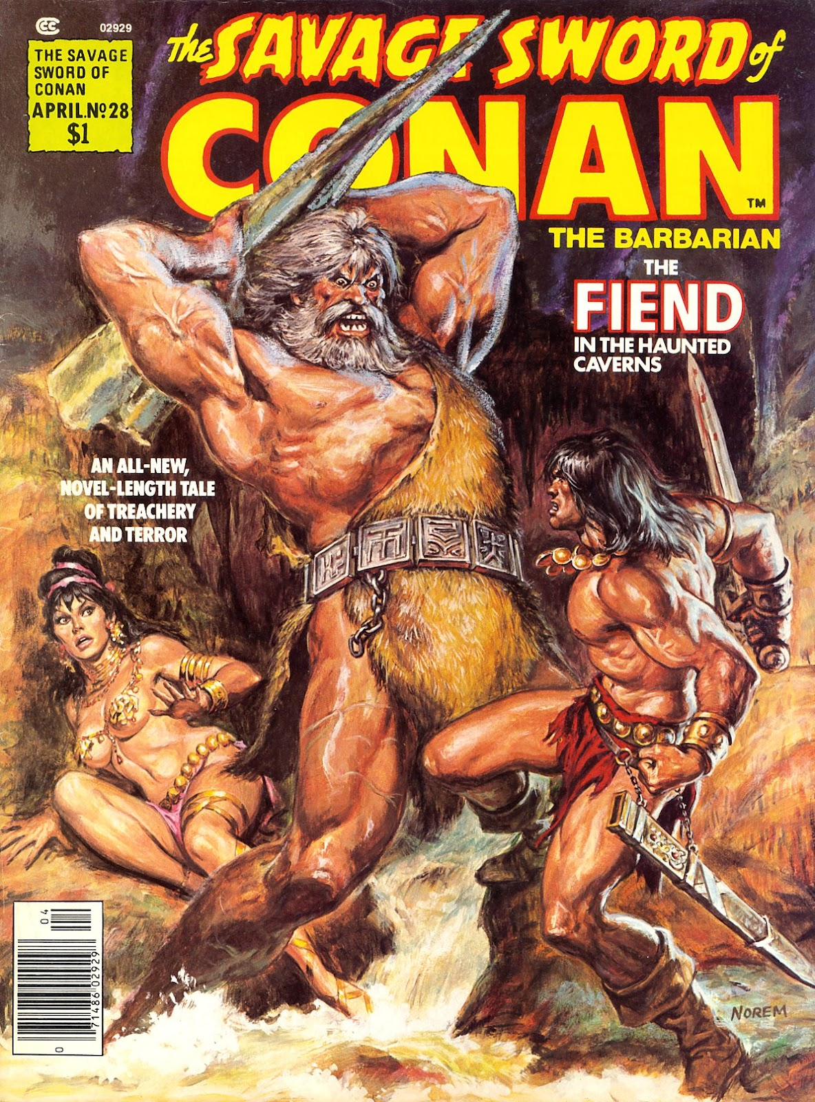 The Savage Sword Of Conan Issue #28 #29 - English 1