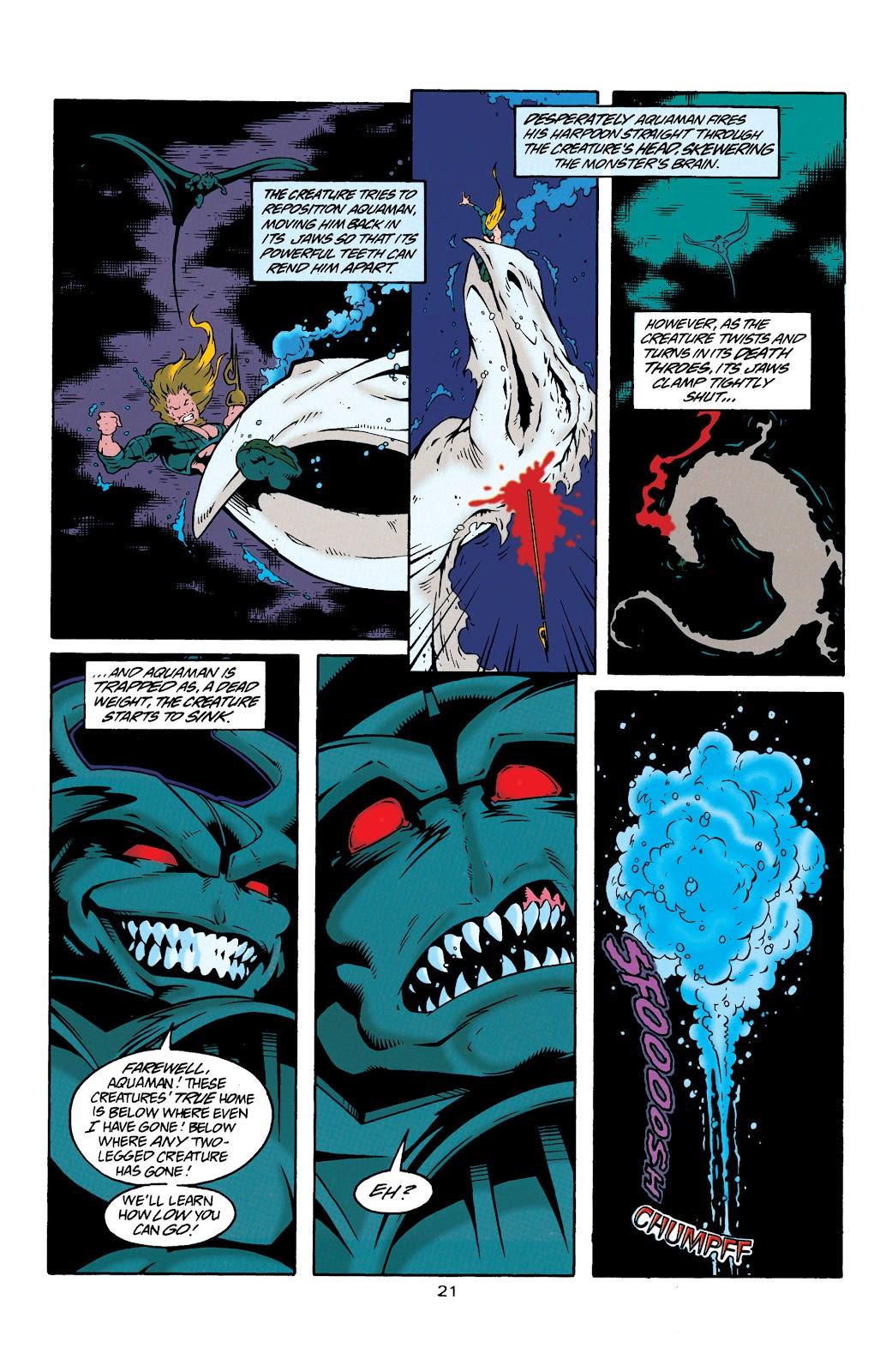 Aquaman (1994) Issue #29 #35 - English 21