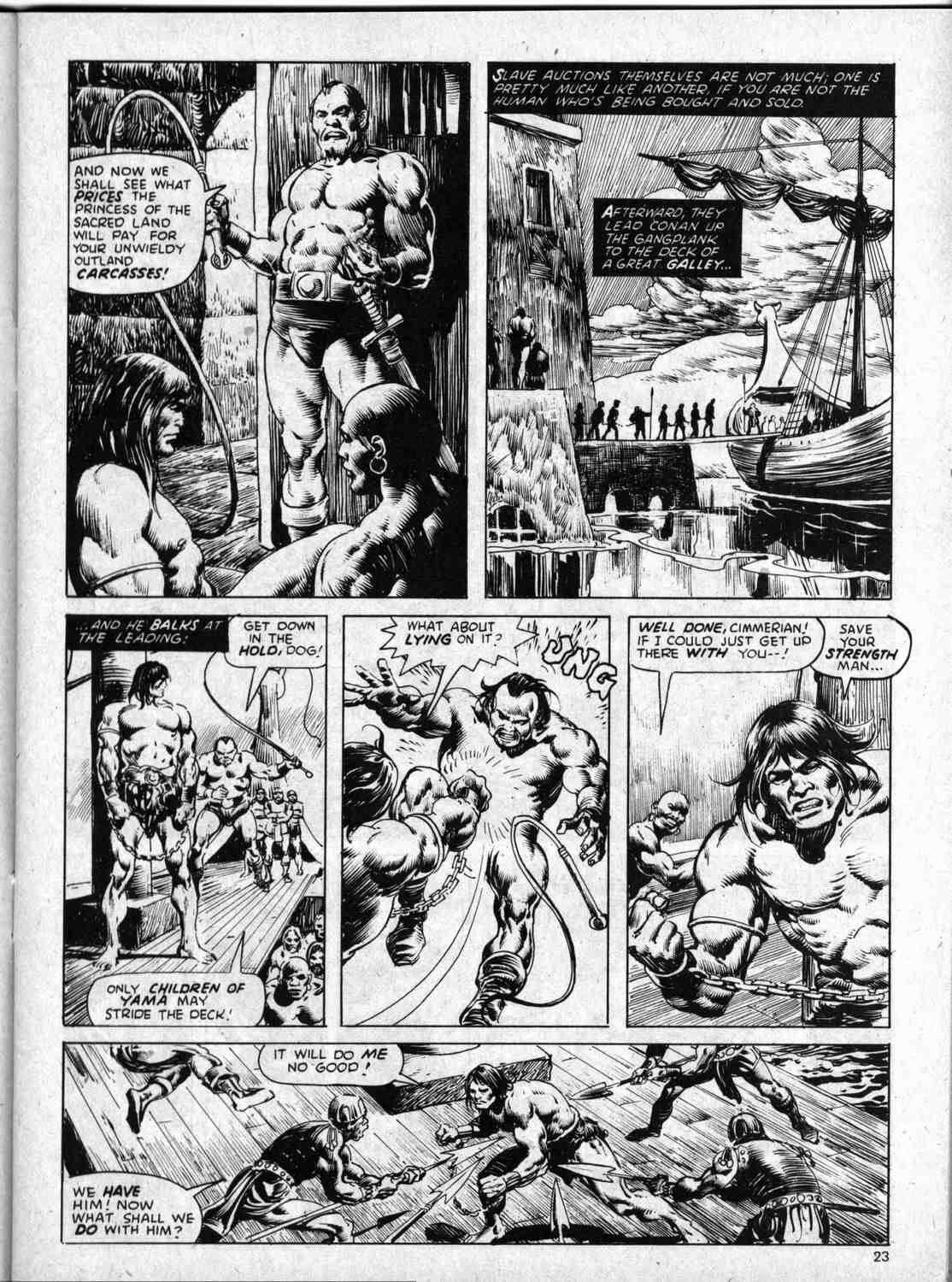 The Savage Sword Of Conan Issue #59 #60 - English 23