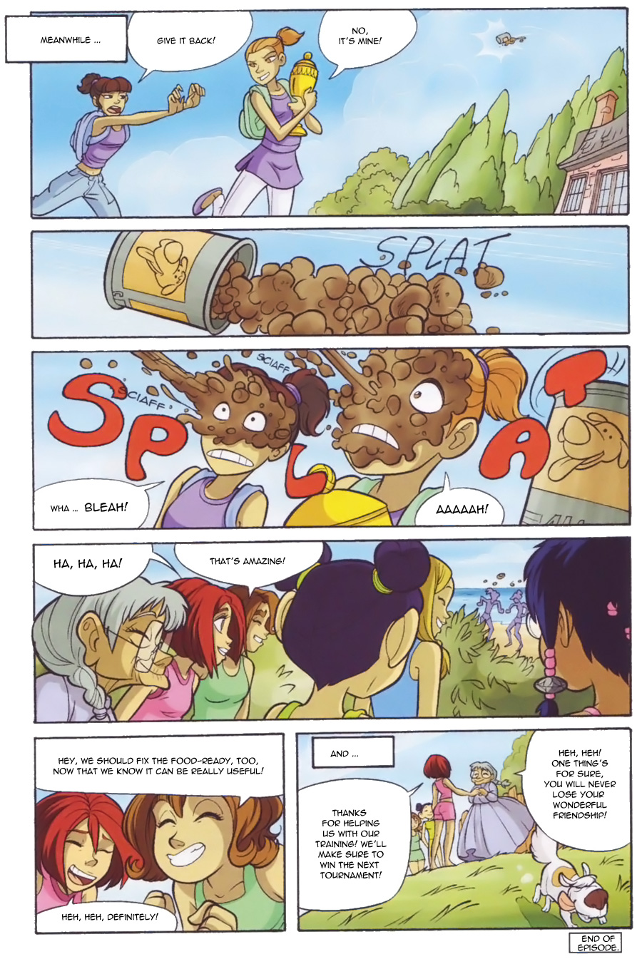 Read online W.i.t.c.h. comic -  Issue #136 - 37