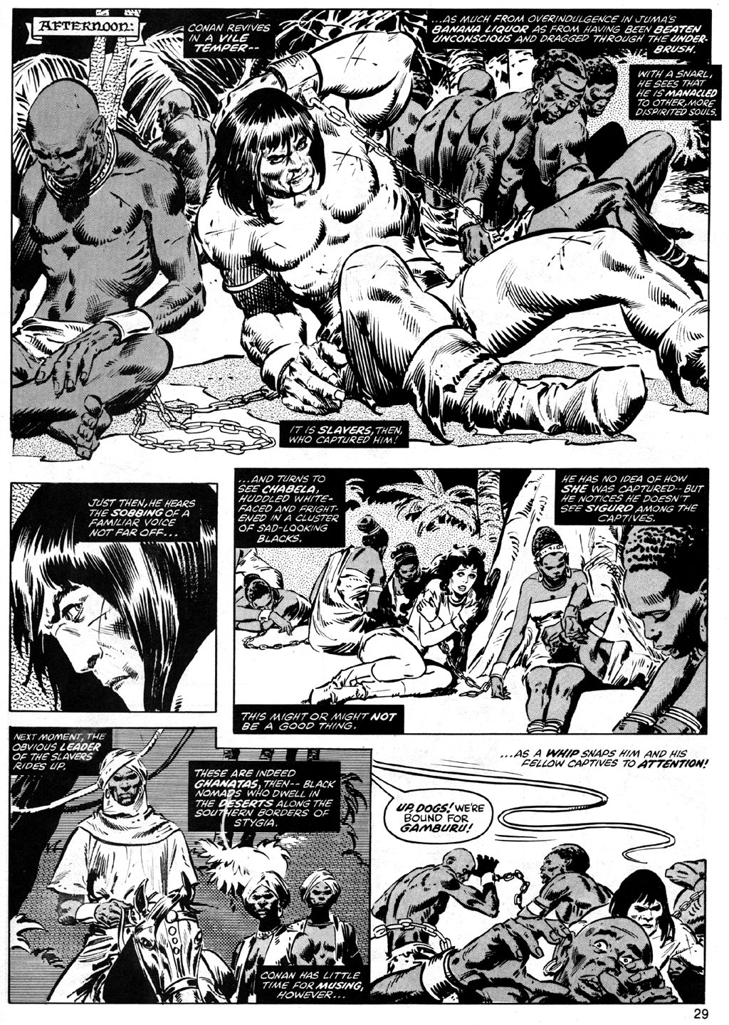 The Savage Sword Of Conan Issue #41 #42 - English 29