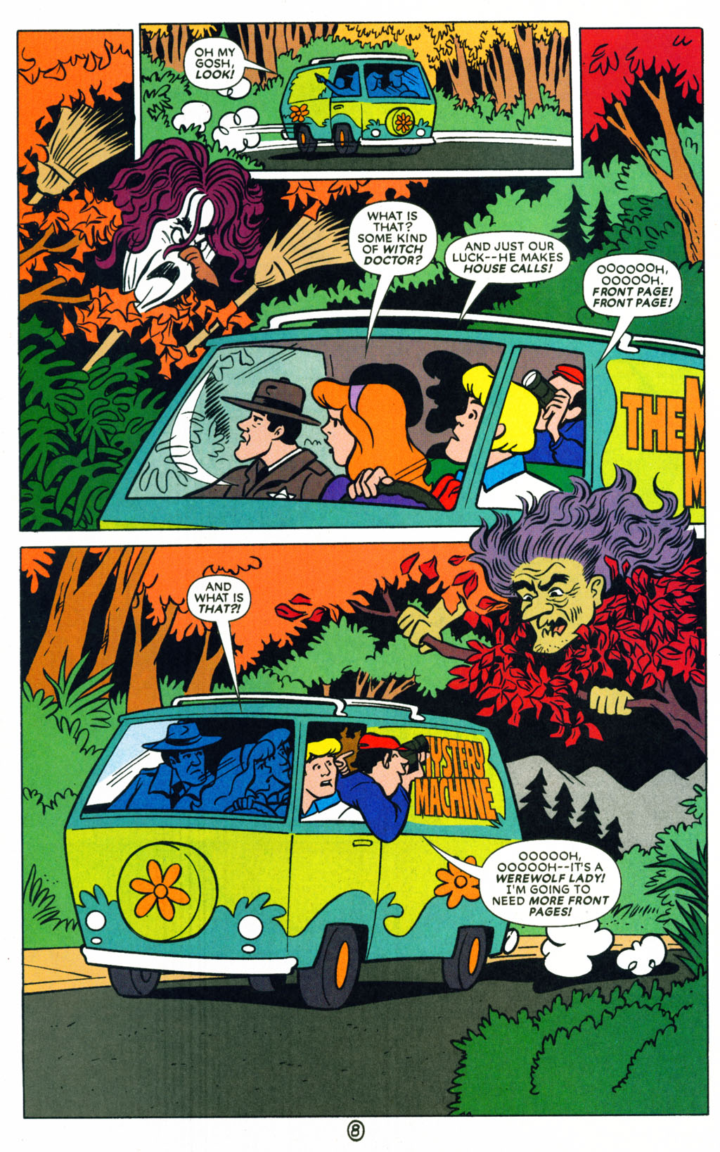 Read online Scooby-Doo (1997) comic -  Issue #71 - 21