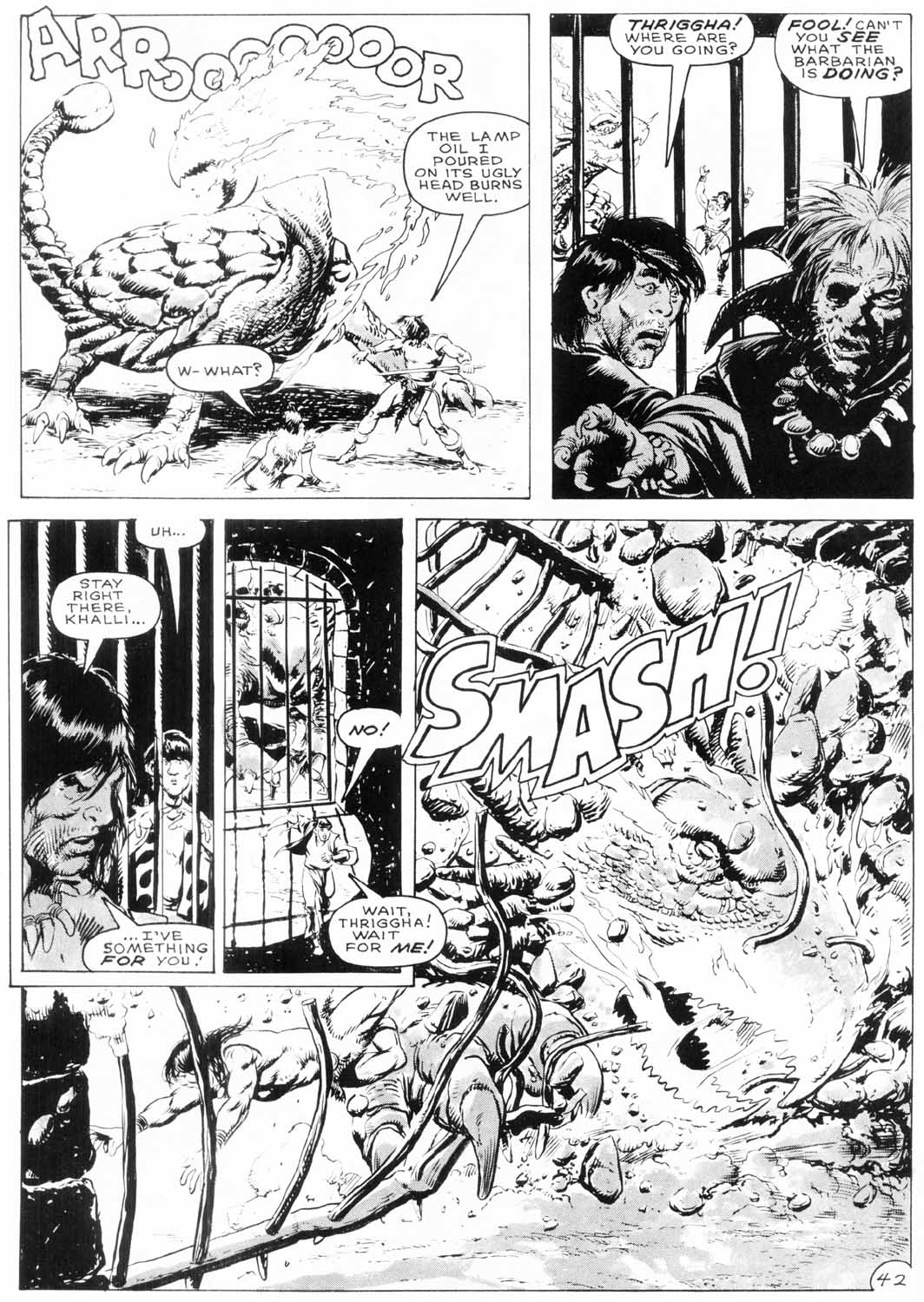 The Savage Sword Of Conan Issue #154 #155 - English 43