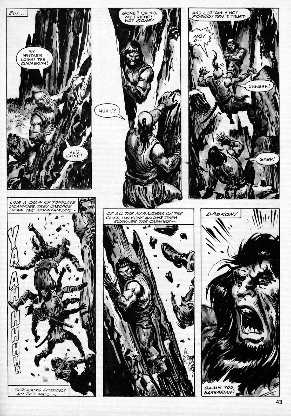 The Savage Sword Of Conan Issue #77 #78 - English 43