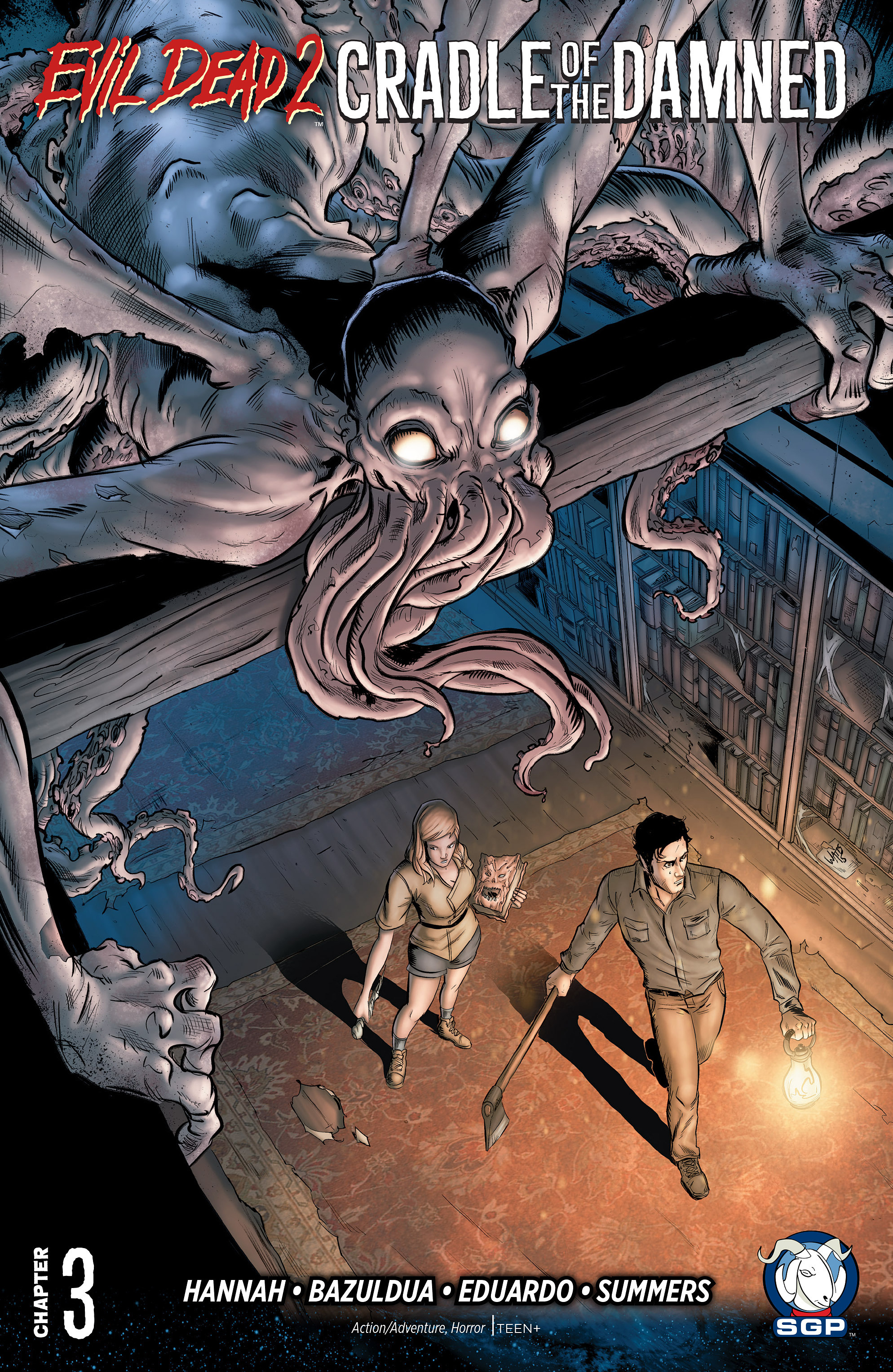 Read online Evil Dead 2: Cradle of the Damned comic -  Issue #3 - 1