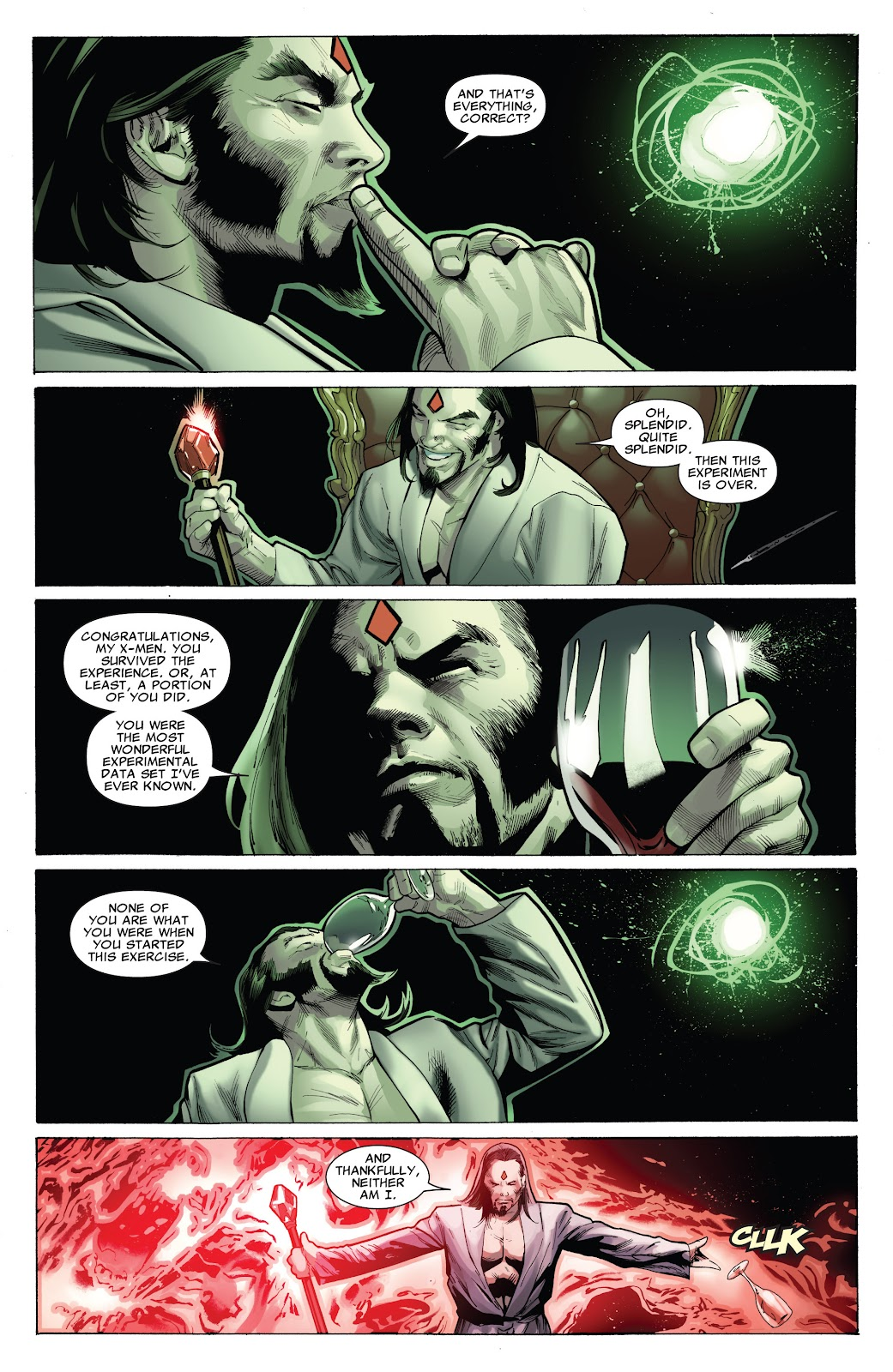 Uncanny X-Men (1963) Issue #544 #572 - English 18