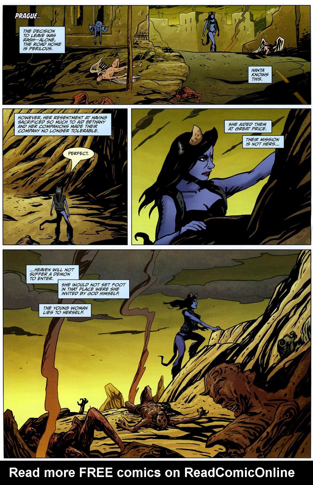Strange Girl Issue #17 #18 - English 3