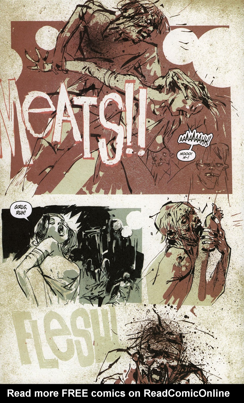 Zombies vs. Robots vs. Amazons Issue #1 Page 11