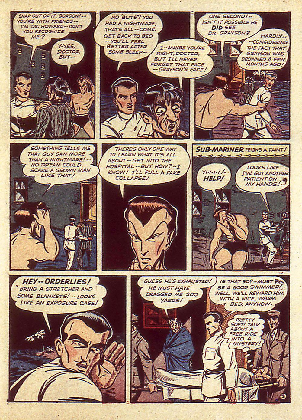 Sub-Mariner Comics Issue #4 #4 - English 6