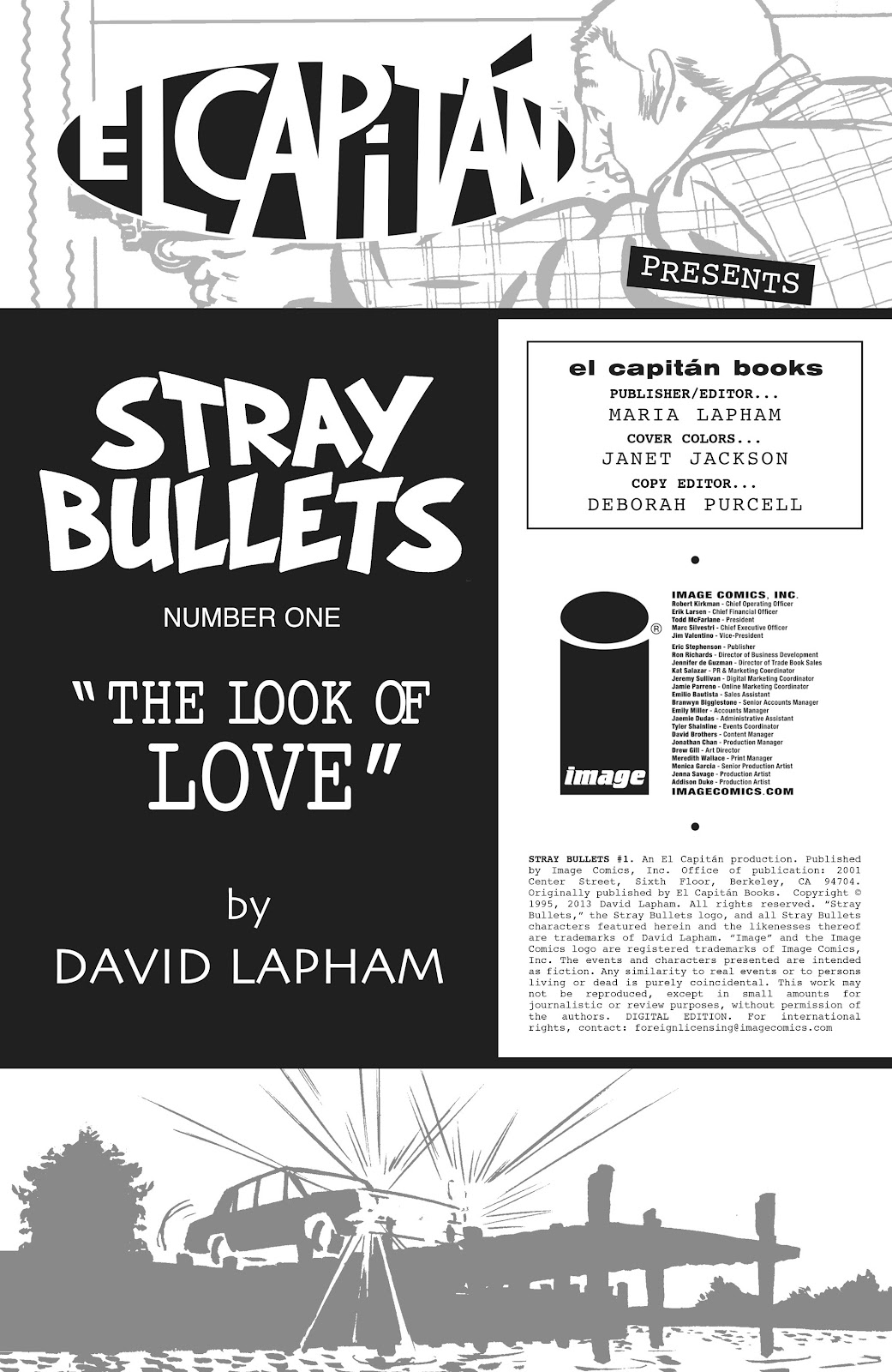 Stray Bullets Issue #1 #1 - English 2