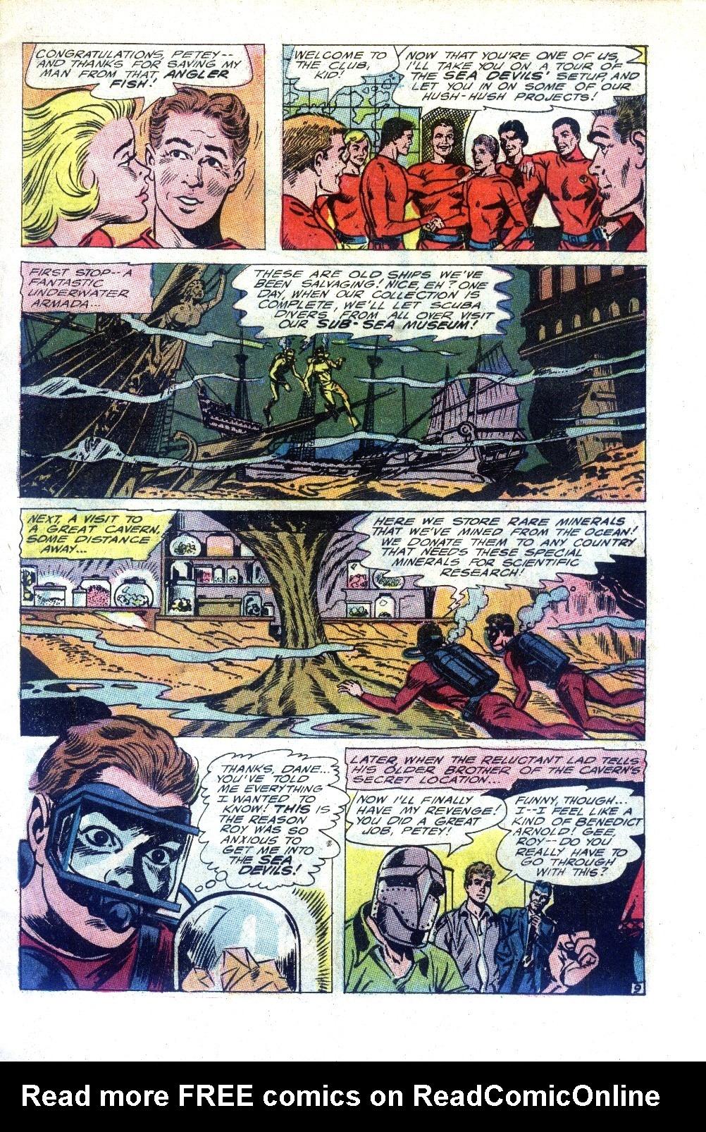 Read online Sea Devils comic -  Issue #27 - 14