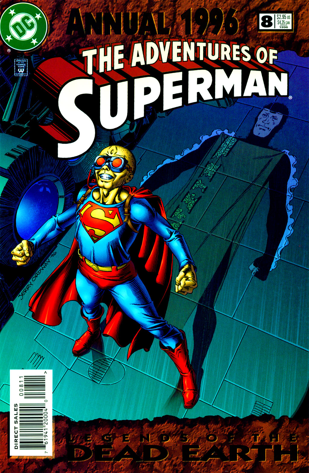 Adventures of Superman (1987) _Annual_8 Page 1