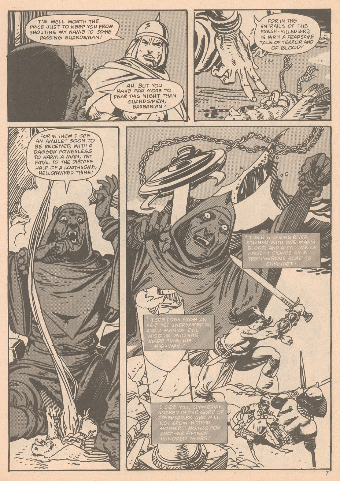 The Savage Sword Of Conan Issue #65 #66 - English 7